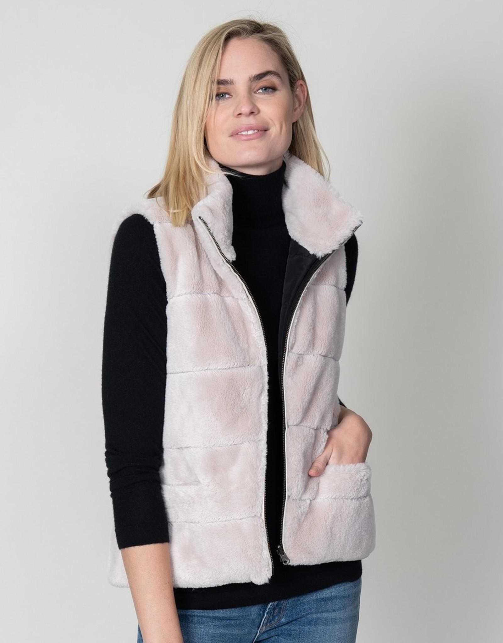 dylan fur love reversible vest