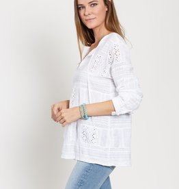 dylan paige patchwork tunic