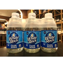 White Rock Club Soda - 6-pack
