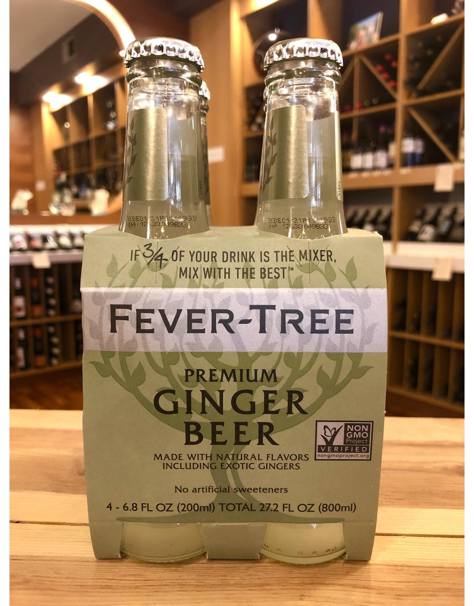 Fever Tree Ginger Beer 4-pack