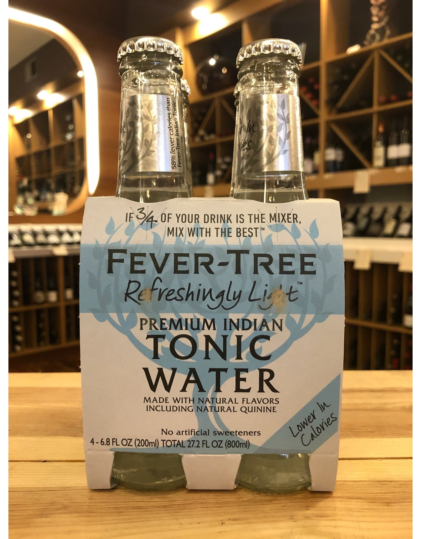 Fever Tree Light Tonic 4-pack