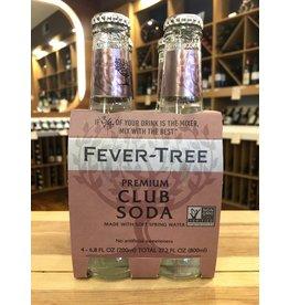 Fever Tree Club Soda 4-pack