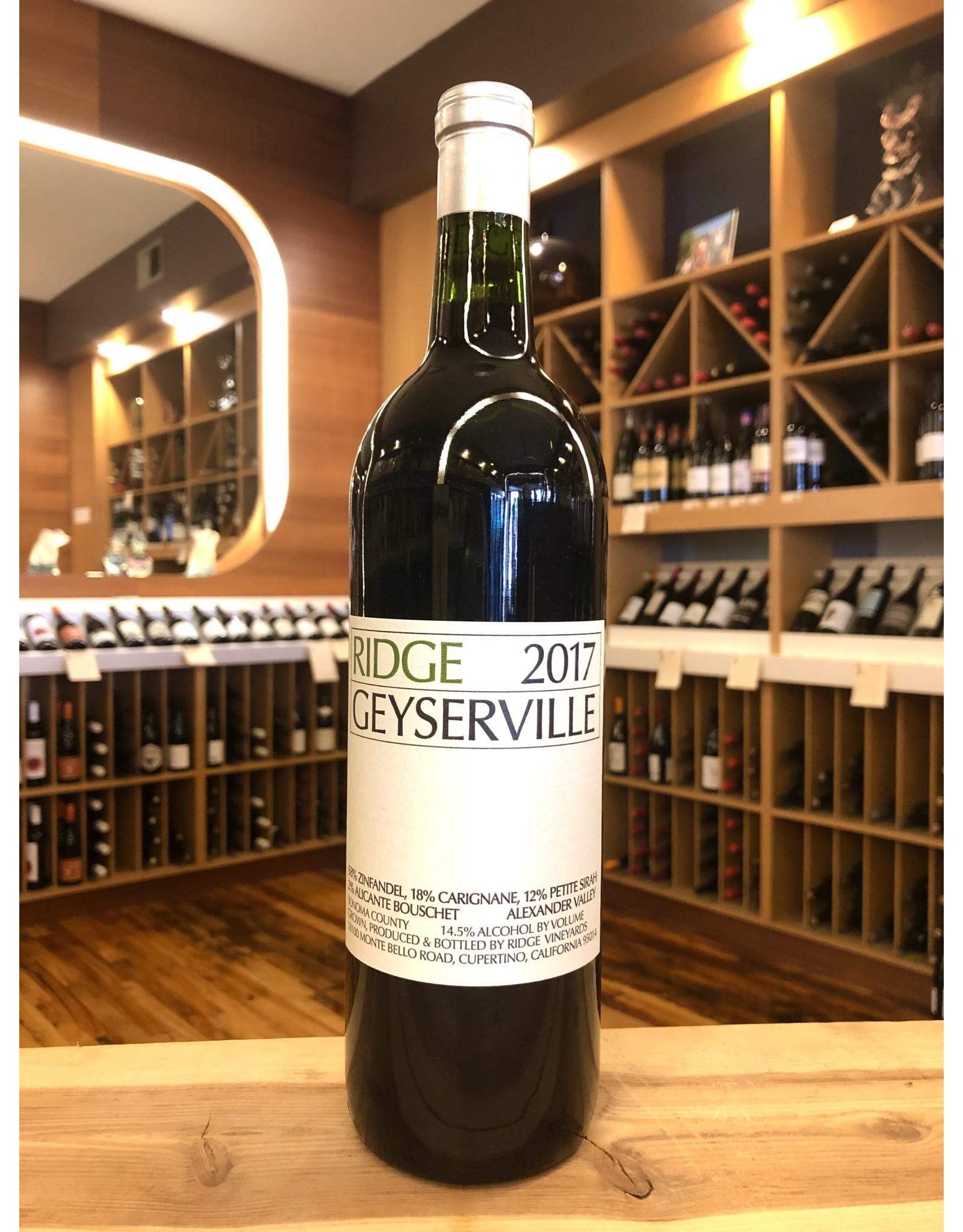 Ridge Geyserville Red - 750 ML