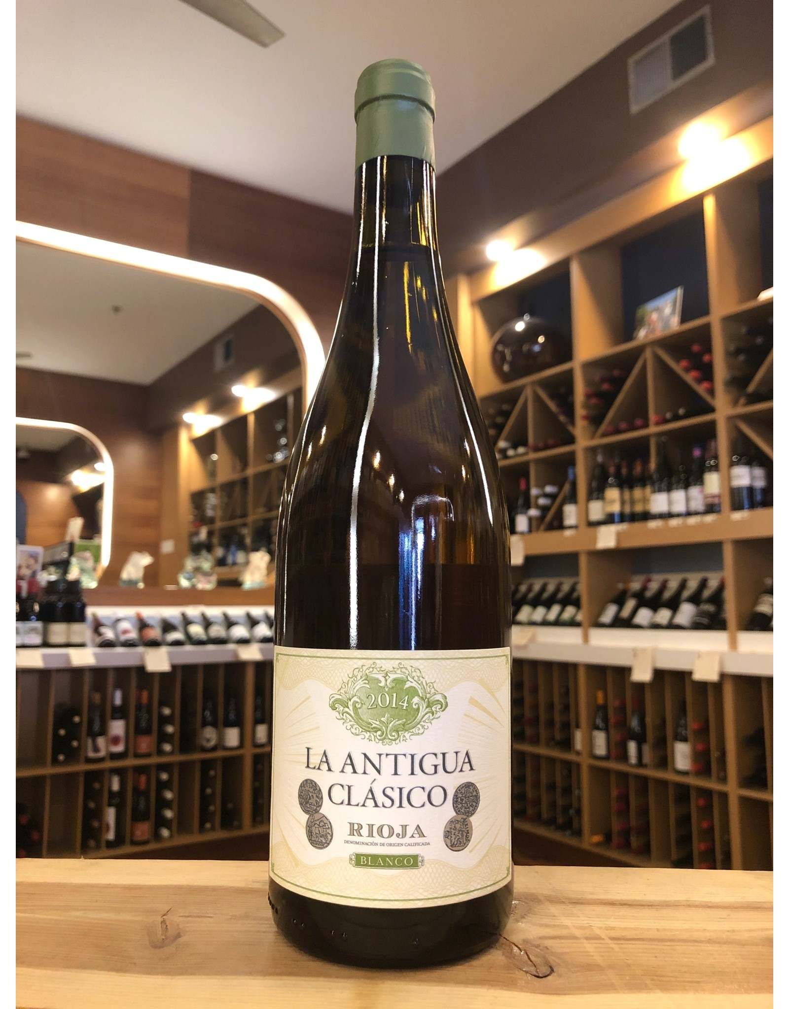 La Antigua Clasico Rioja Blanco - 750 ML