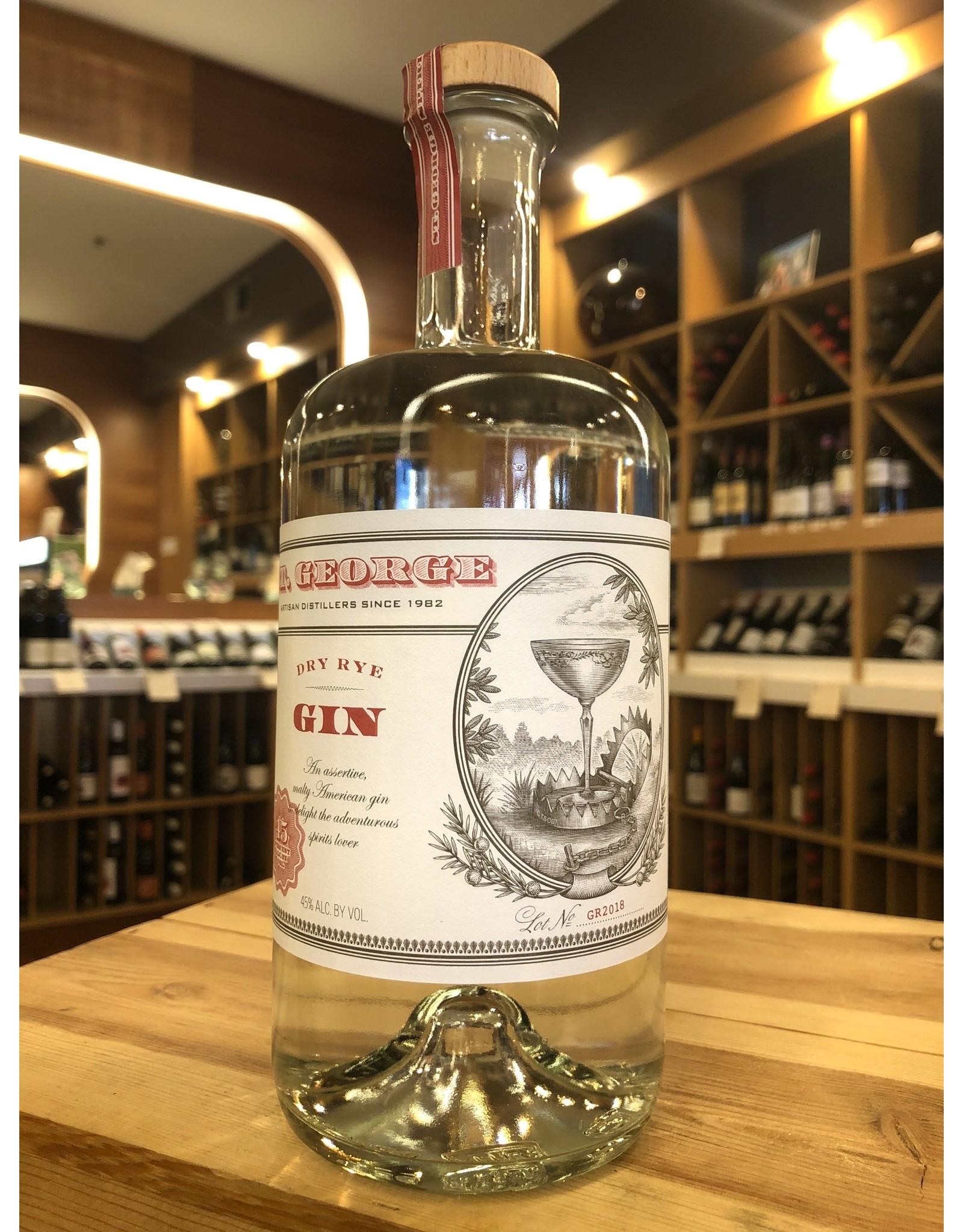 St George Dry Rye Gin - 750 ML
