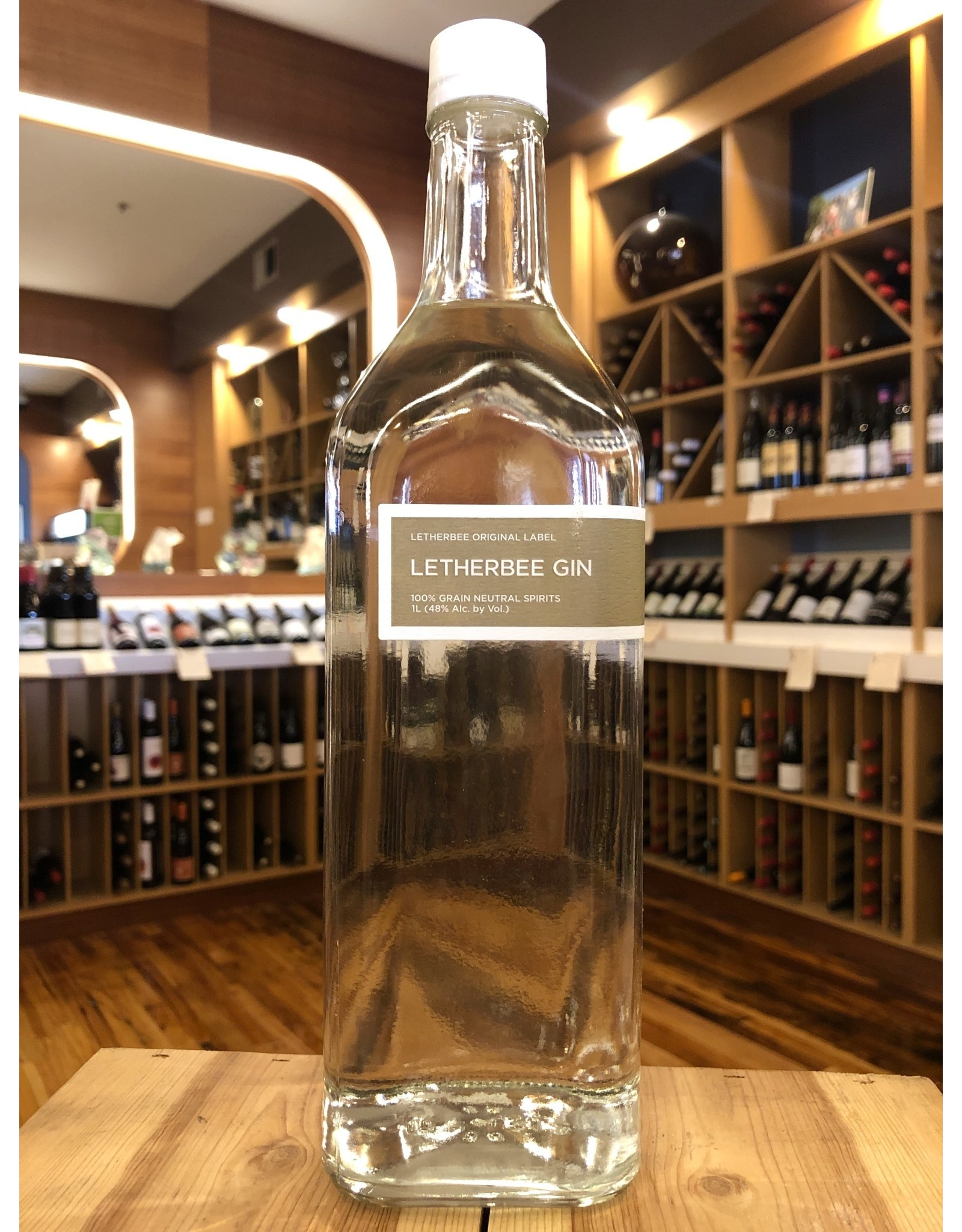 Letherbee Gin - 1 Liter
