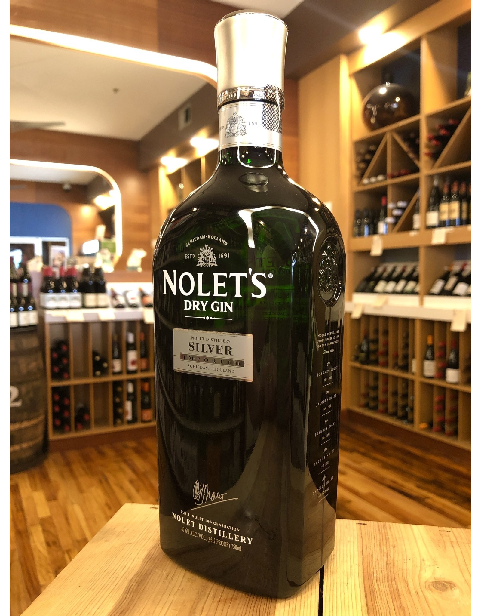 Nolet's Dry Gin & Glass Gift Set - 750 ML