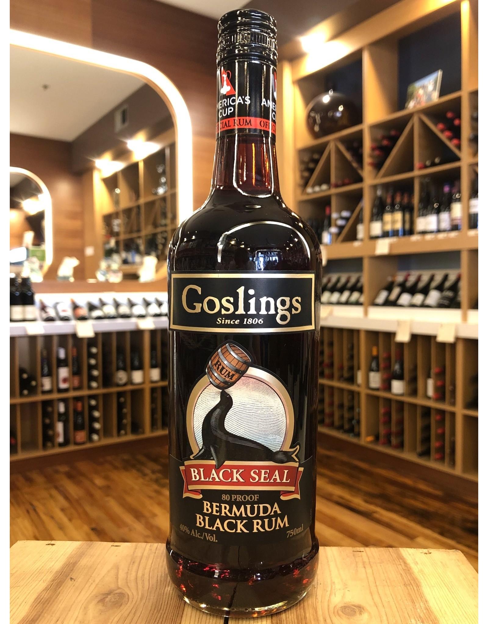 Goslings Black Seal Rum - 750 ML