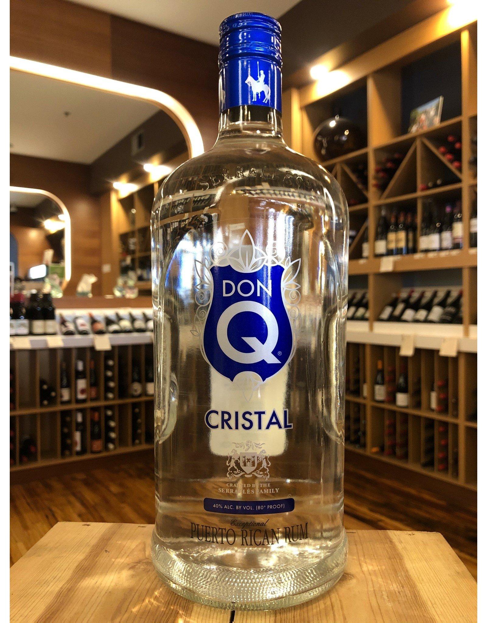 Don Q Rum Silver - 1.75 Liter
