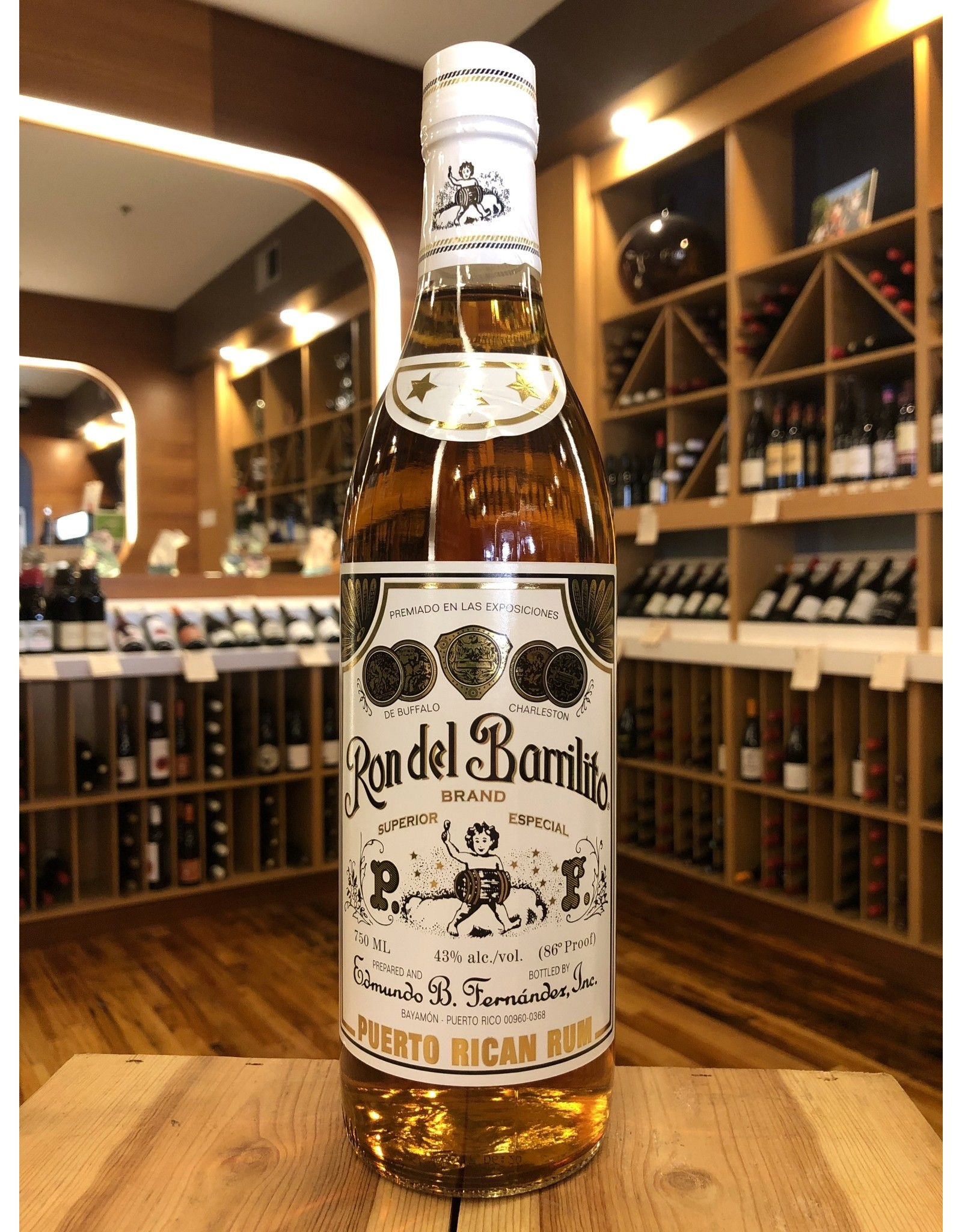 Ron del Barrilito 3-Star Rum - 750 ML