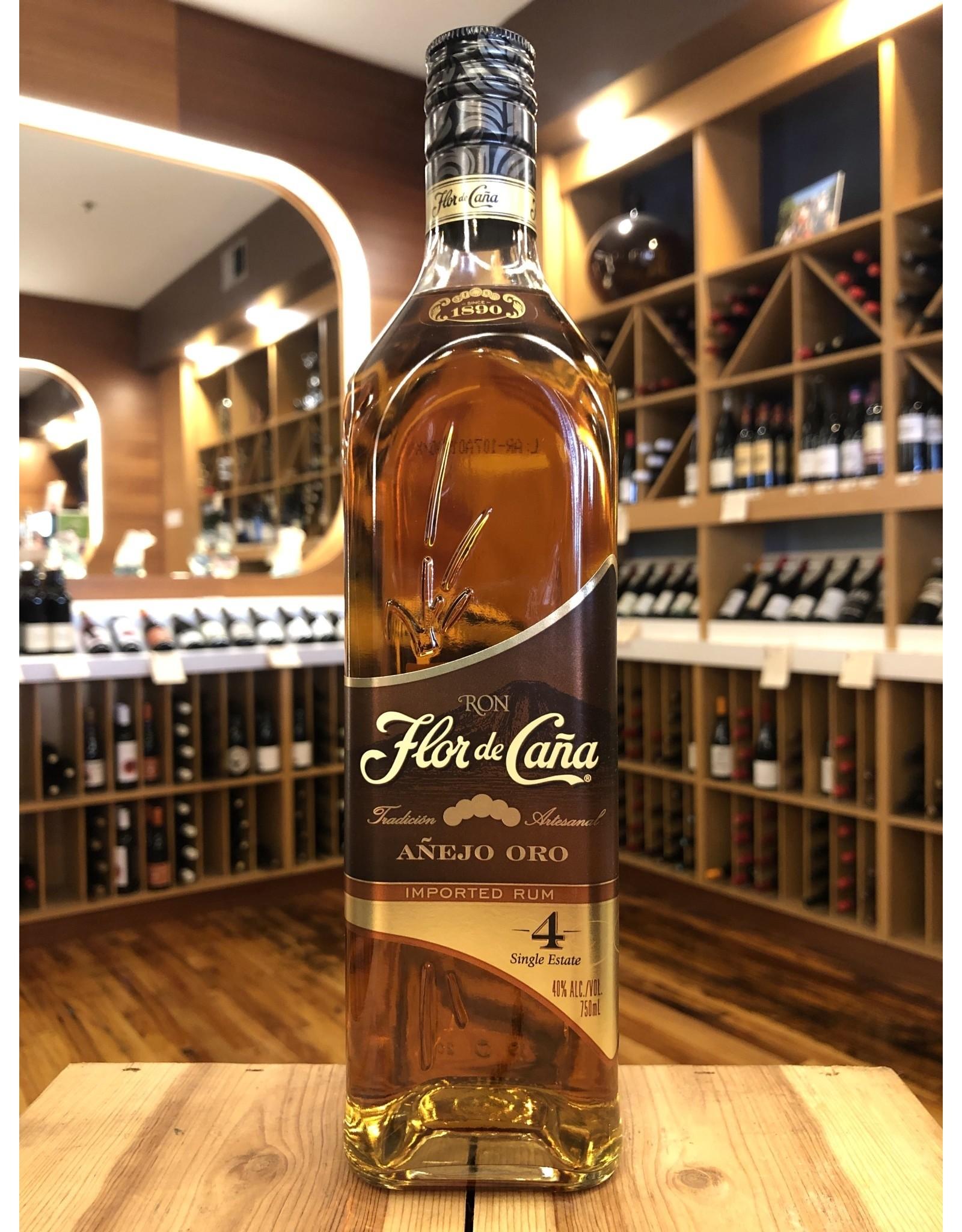 Flor de Cana Gold 4yr Rum - 750 ML