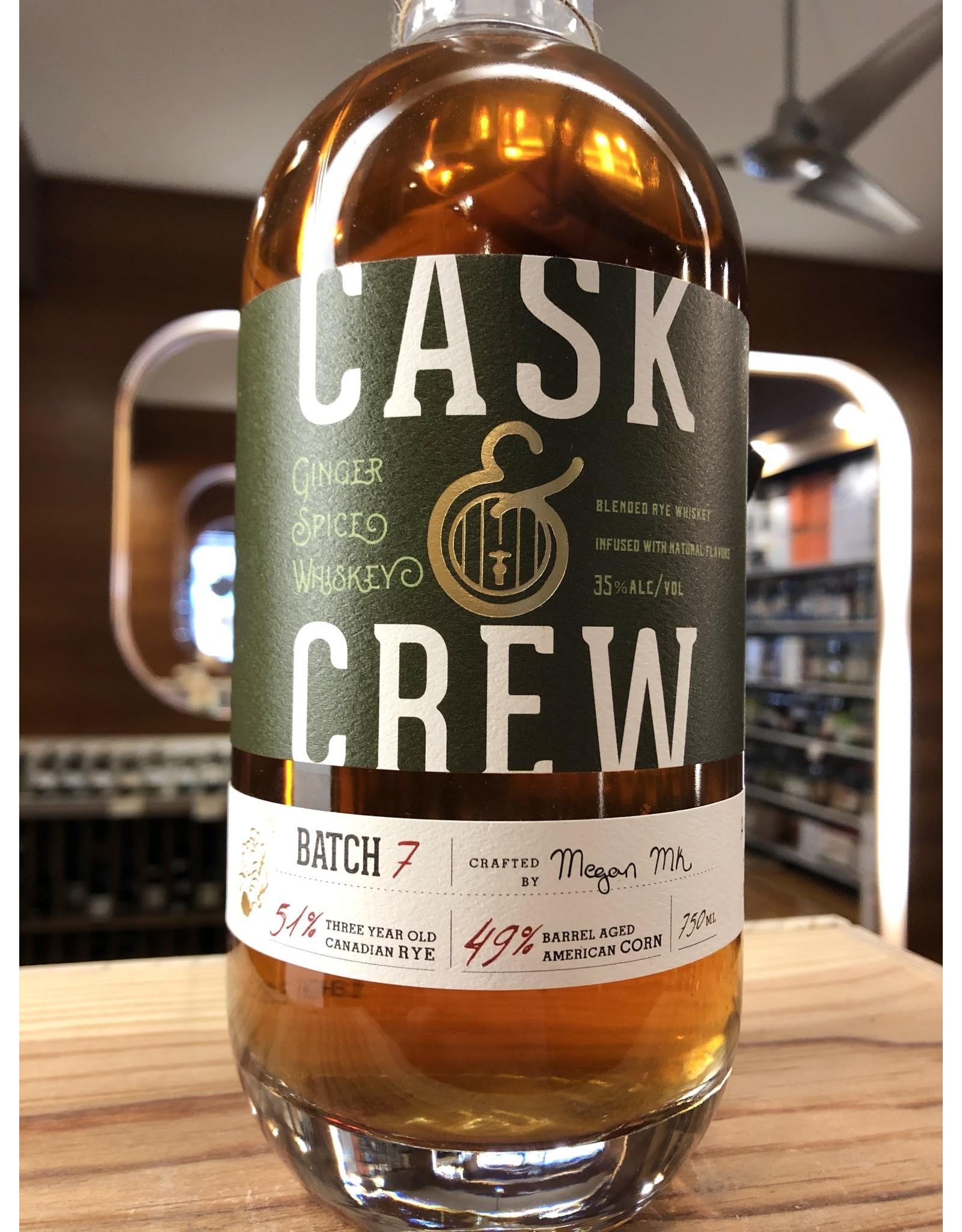 Cask & Crew Ginger Whiskey - 750 ML