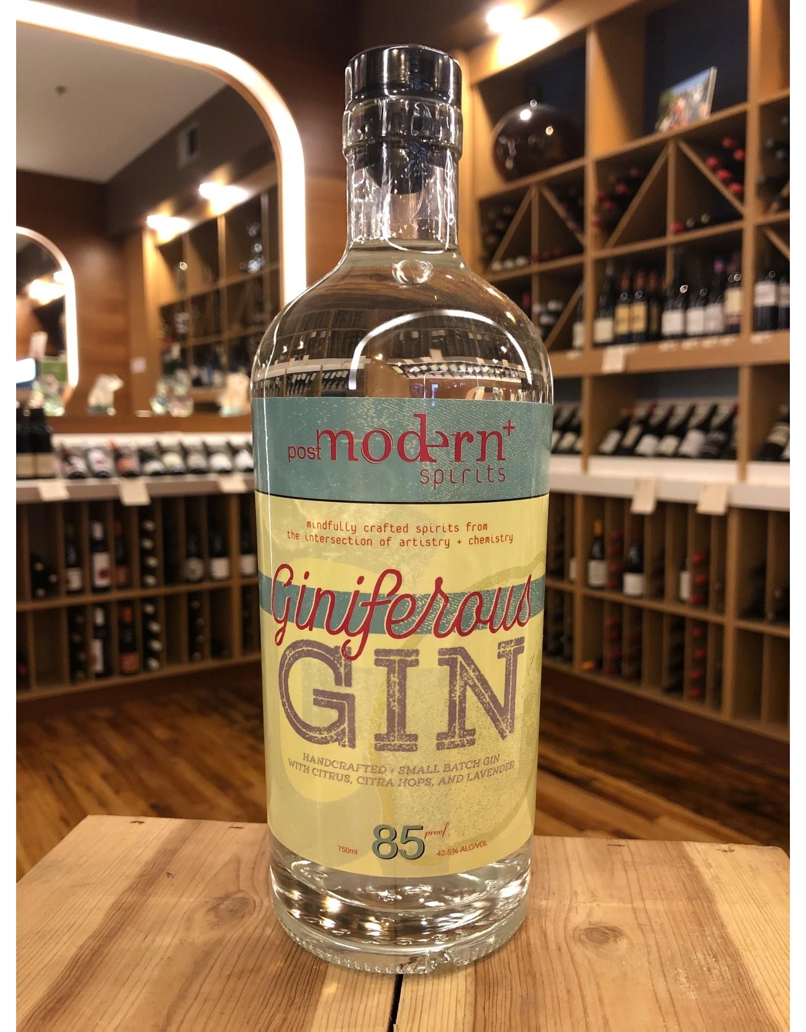 Post Modern Giniferous Gin - 750 ML