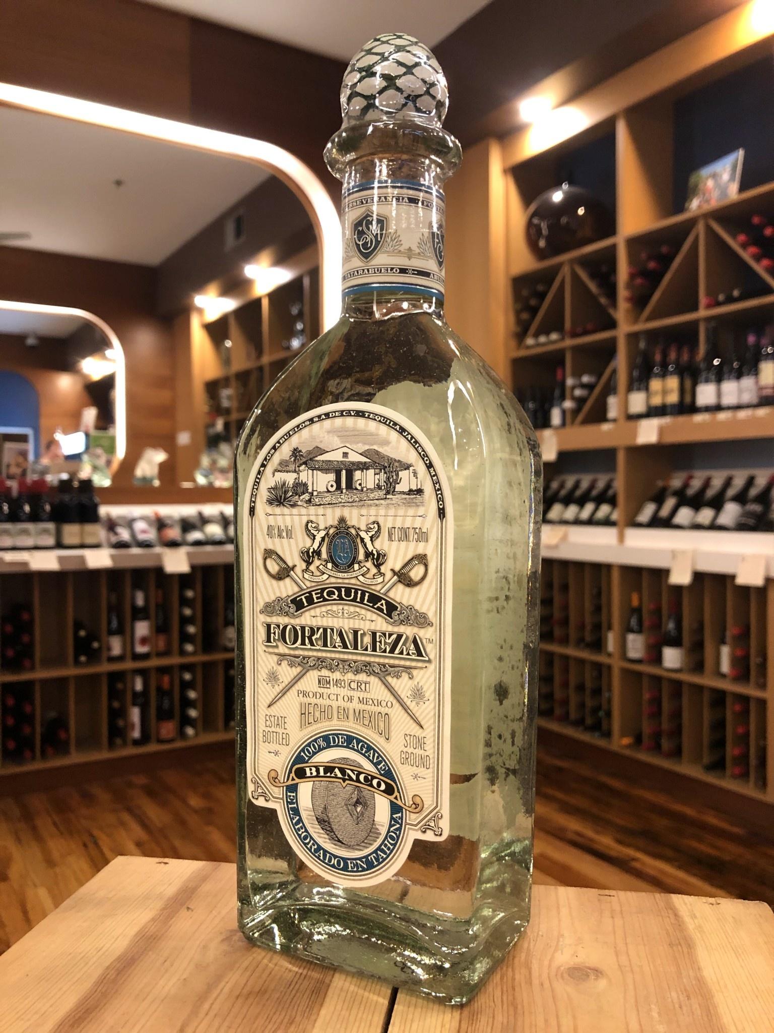 Fortaleza Blanco Tequila - 750 ML - Downtown Wine + Spirits
