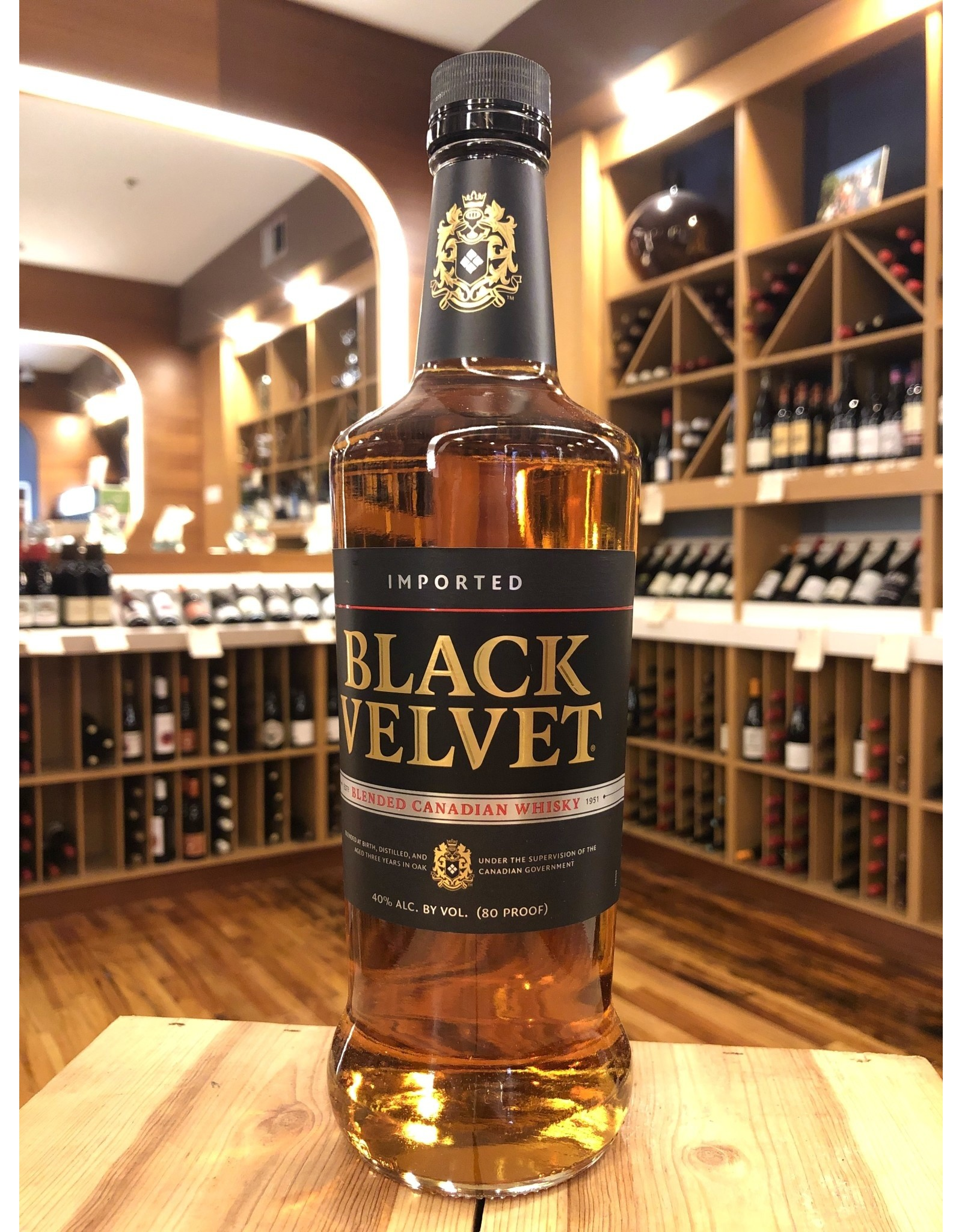Black Velvet Whiskey - 750 ML