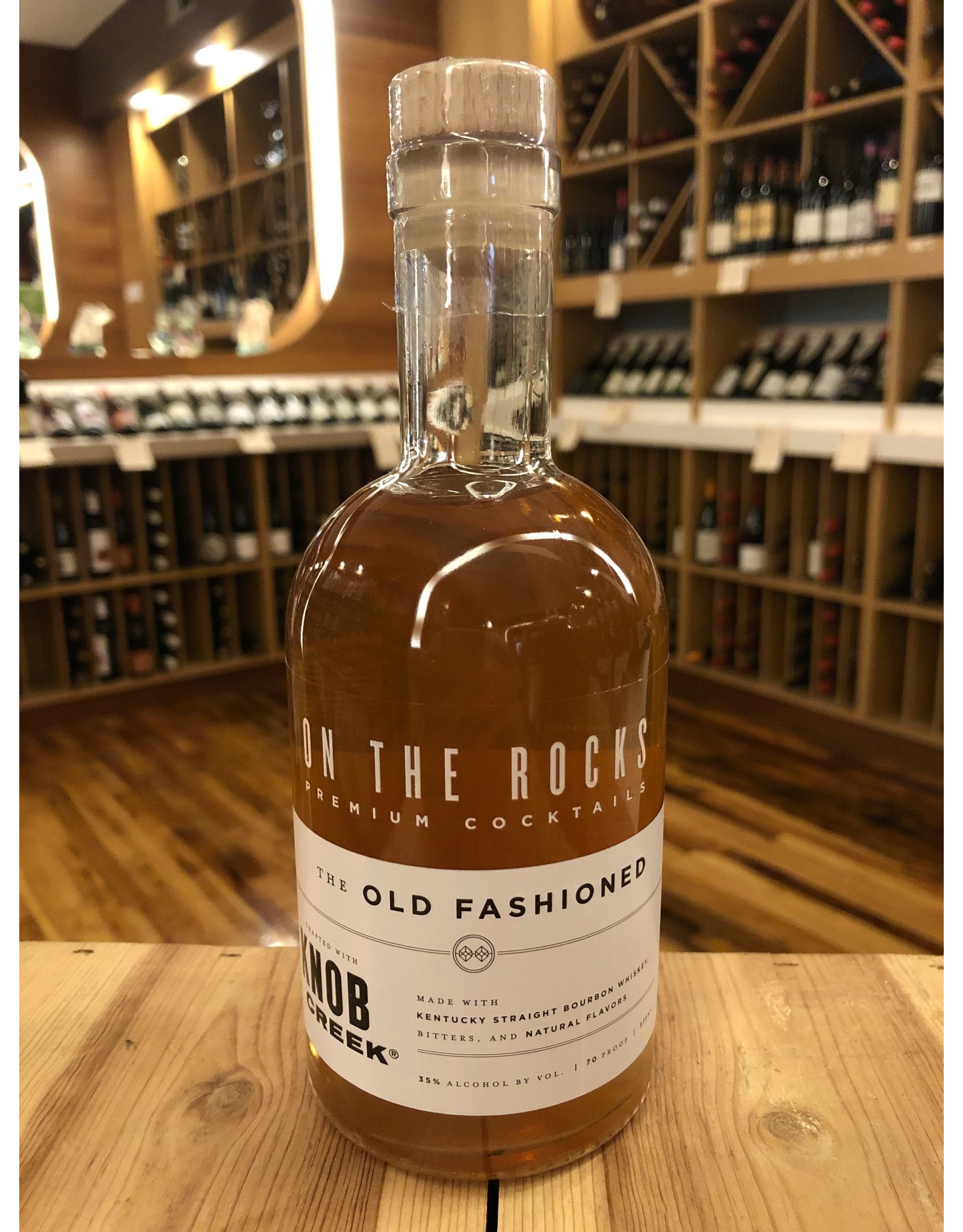 On The Rocks Old Fashioned - 375 ML