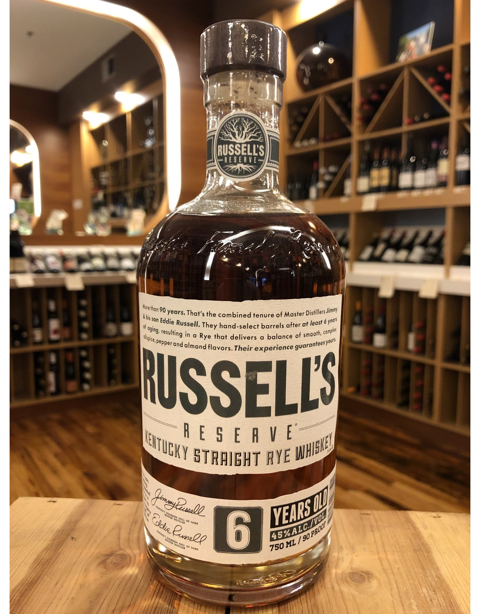 Russell's Rye - 750 ML