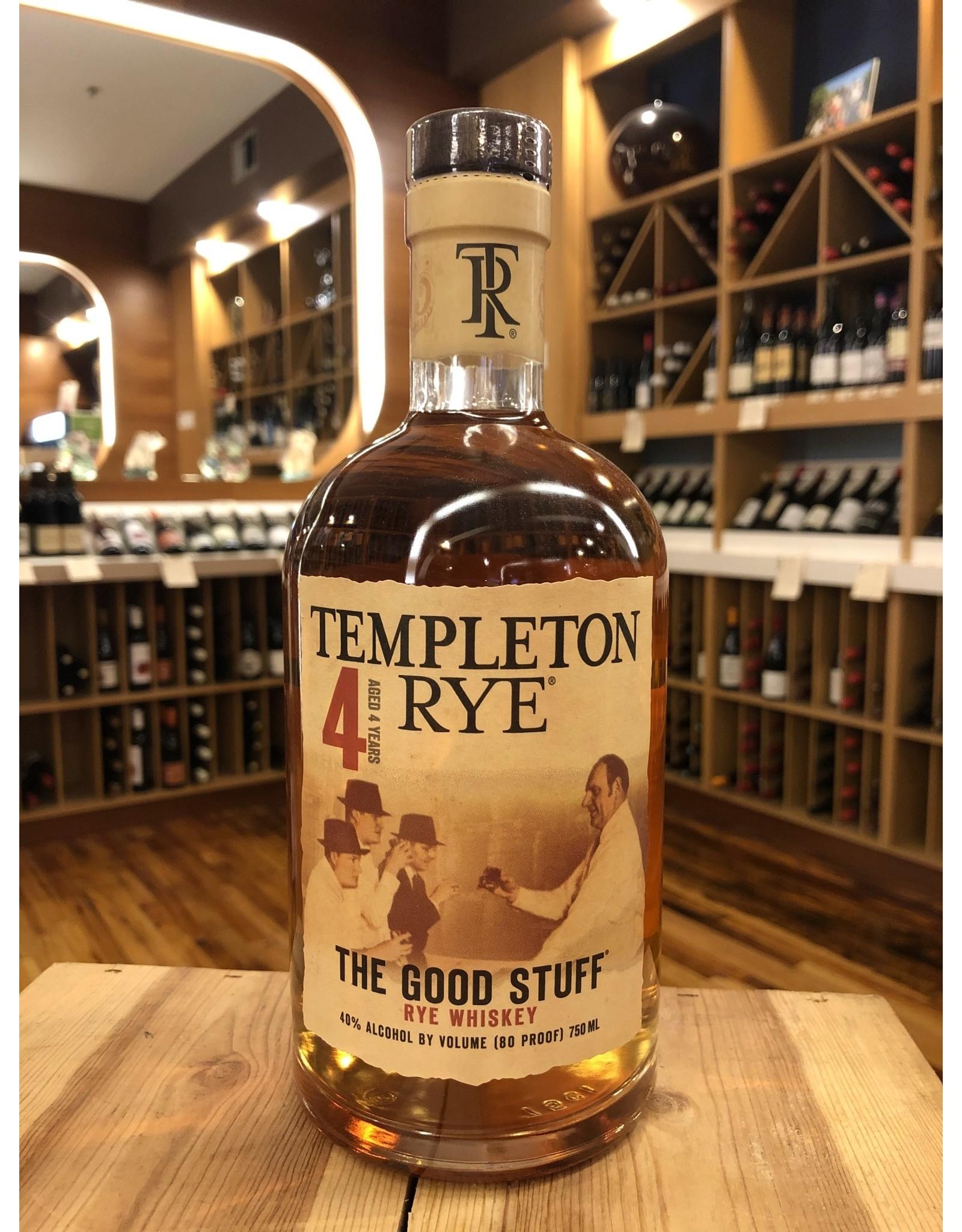 Templeton 4yr Rye - 750 ML