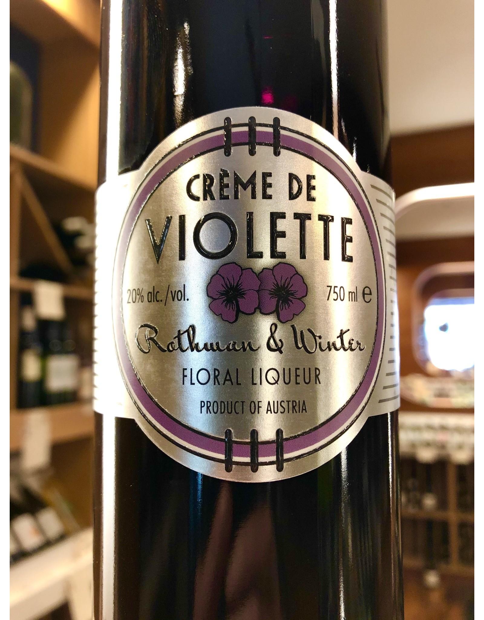 Rothman & Winter Creme de Violette - 750 ML