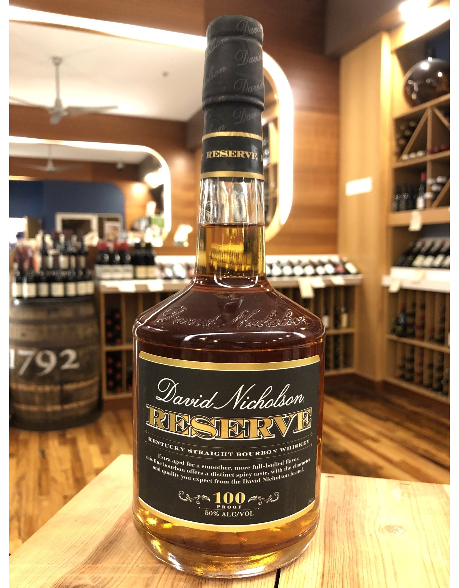 David Nicholson Reserve Bourbon - 750 ML