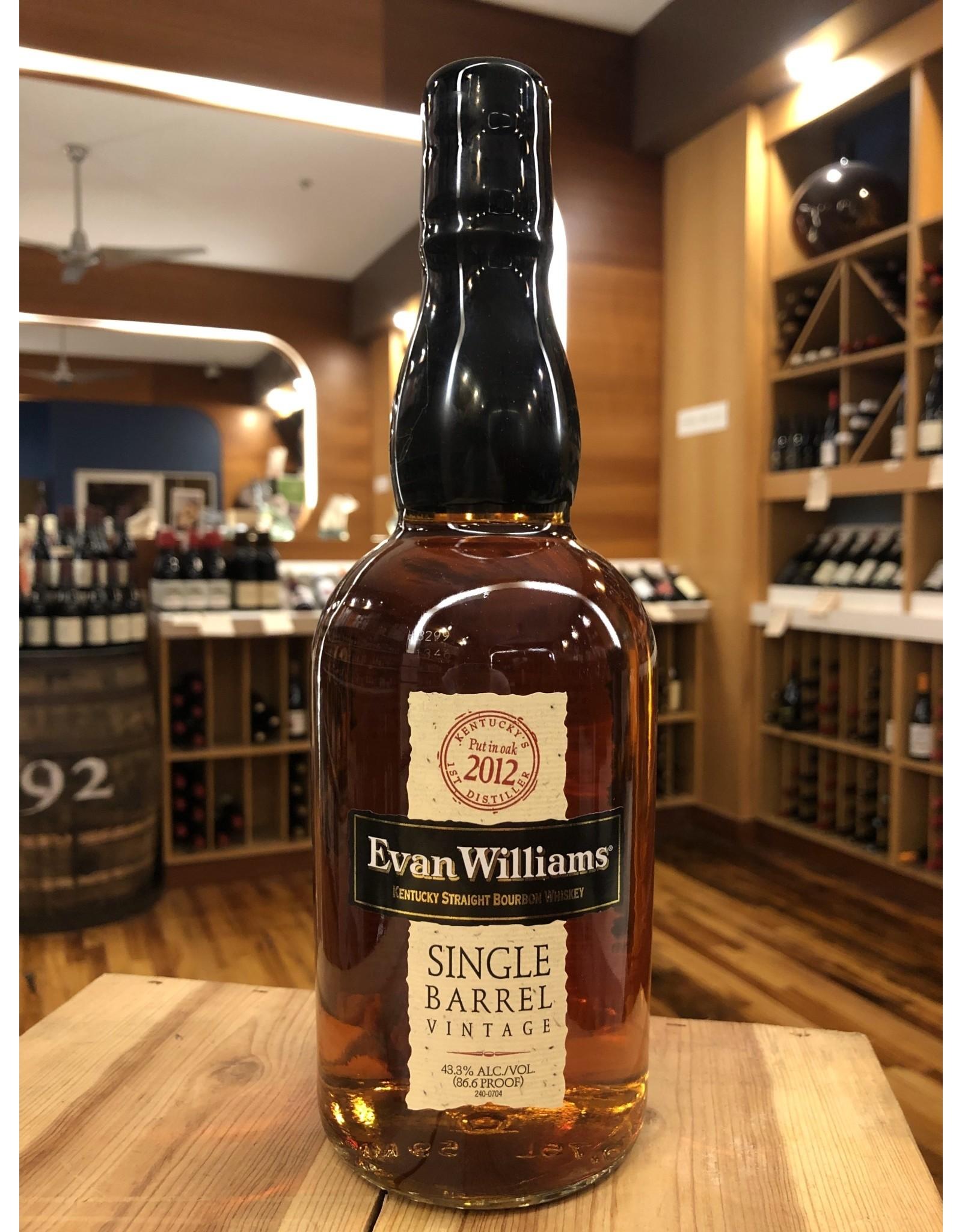 Evan Williams Single Barrel Bourbon - 750 ML