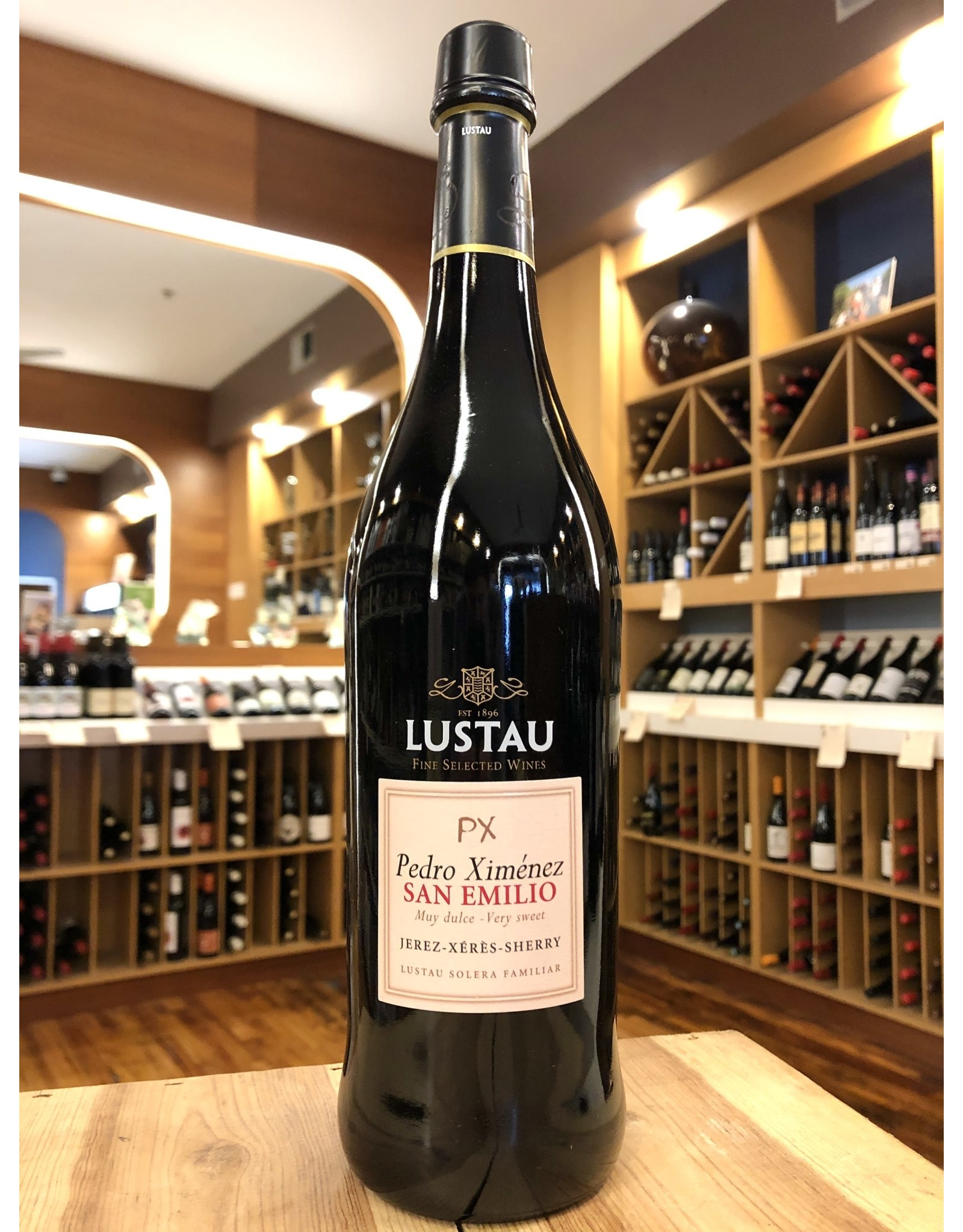 Lustau PX San Emilio Sherry - 750 ML