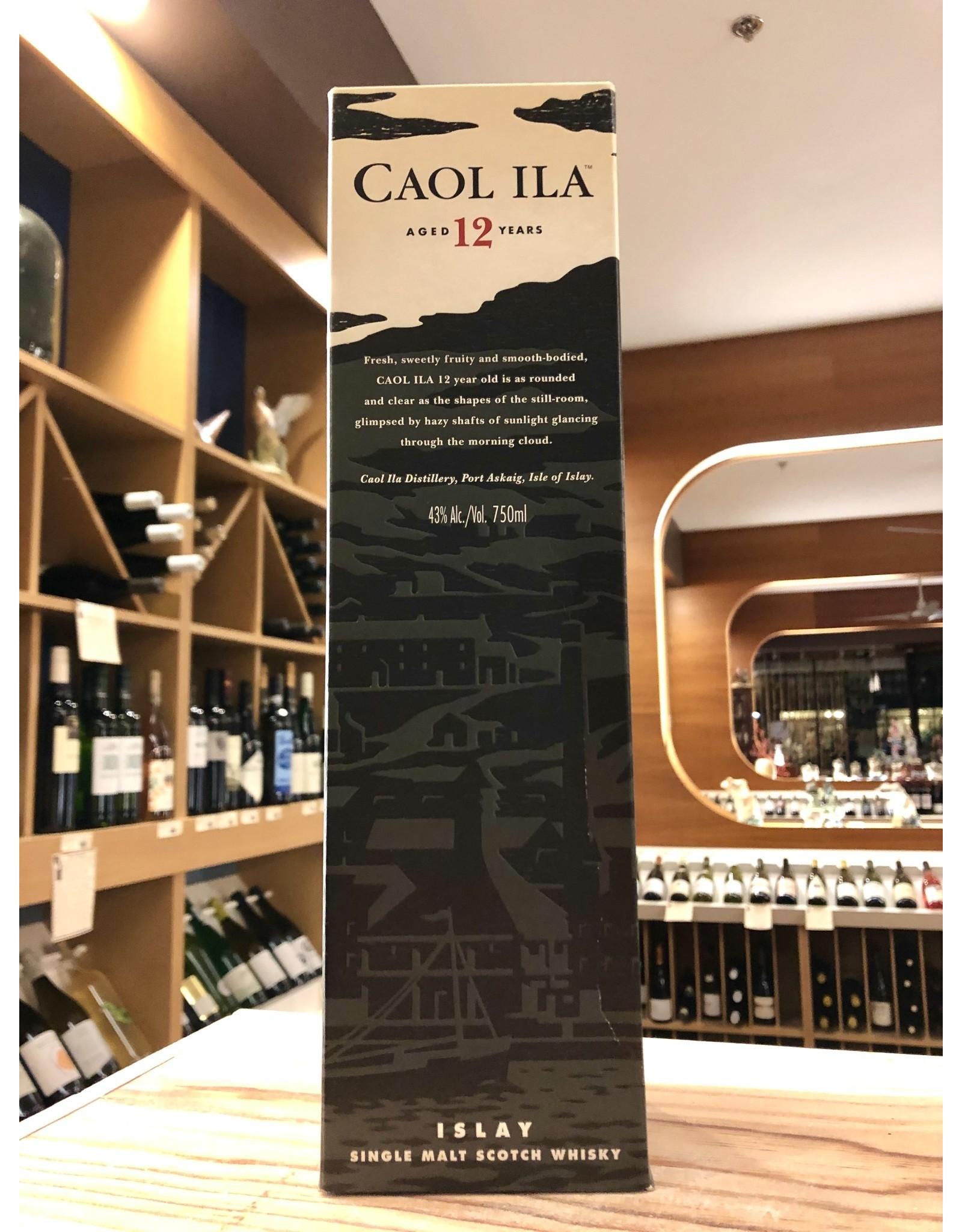 Caol Ila 12yr Scotch - 750 ML