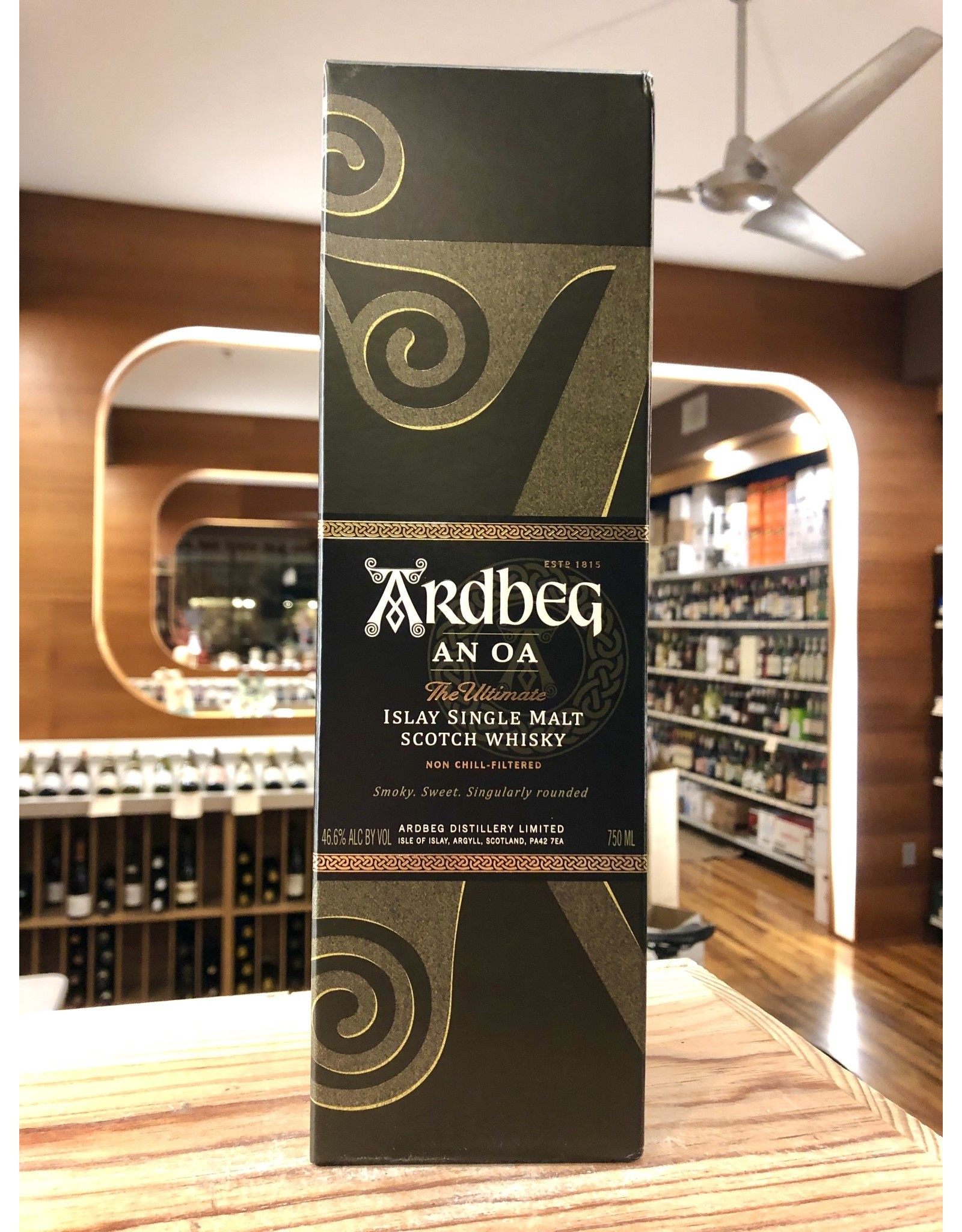 Ardbeg An Oa Scotch - 750 ML