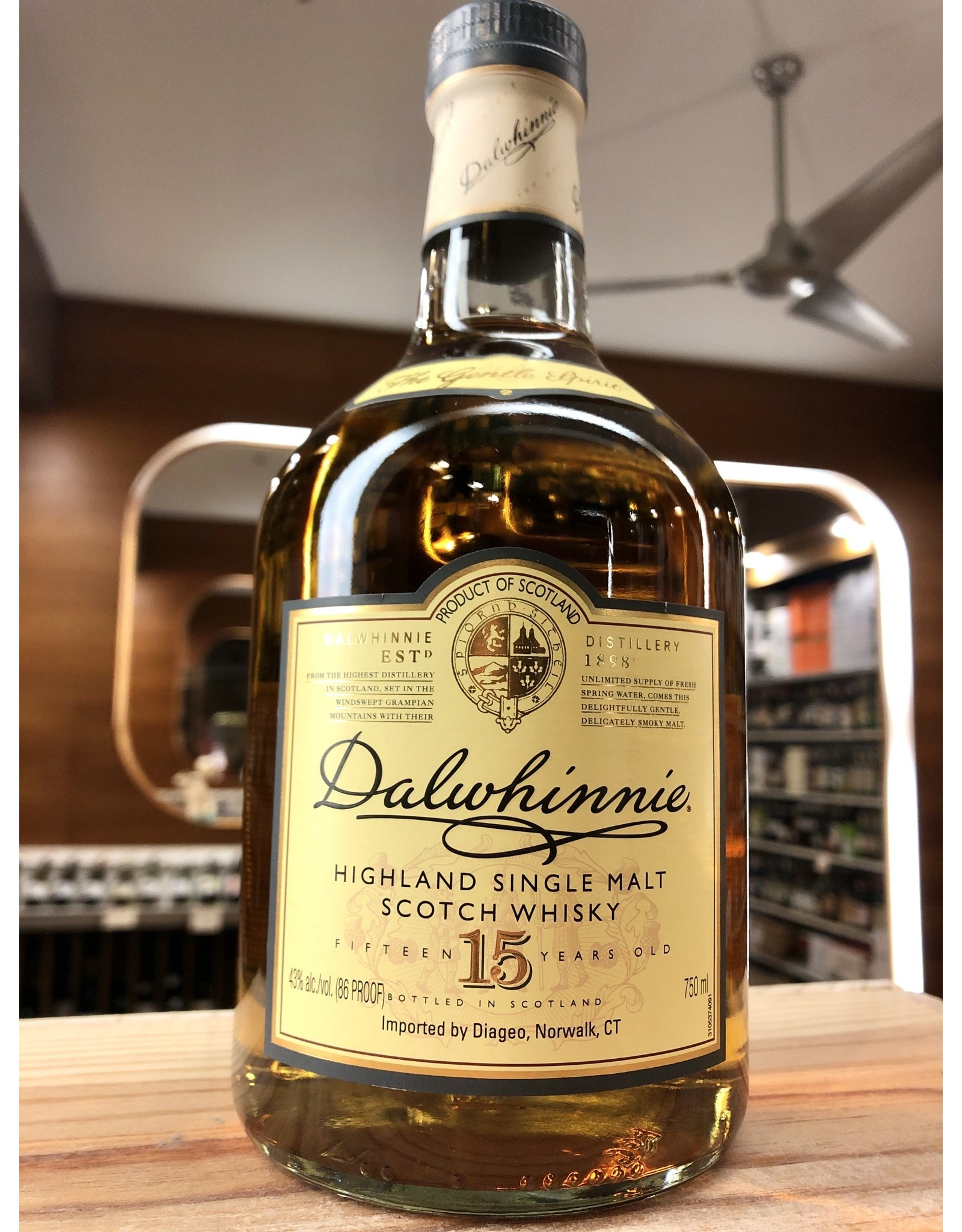 Dalwhinnie 15yr Scotch - 750 ML