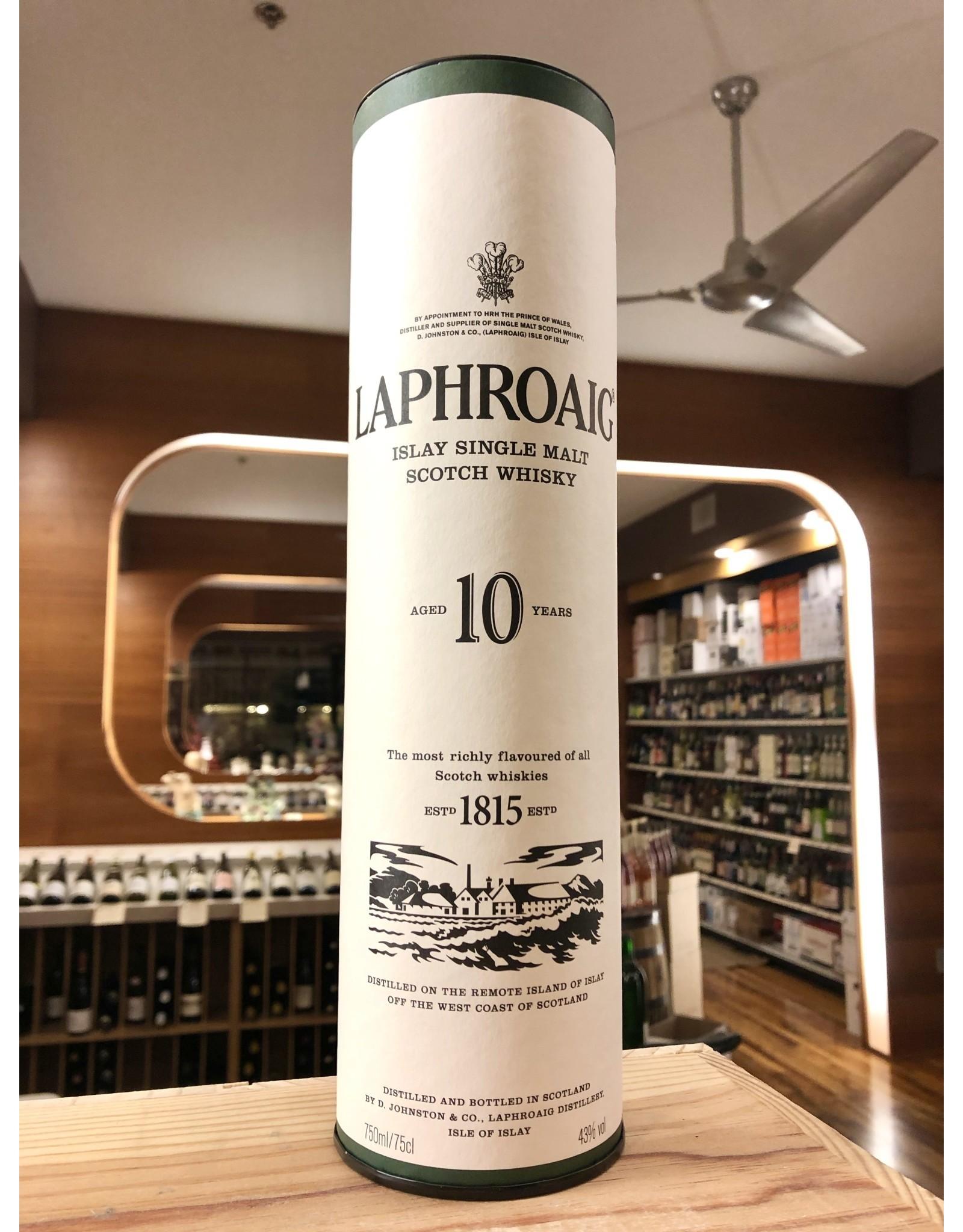 Laphroaig 10 Year Whiskey - 750 ML