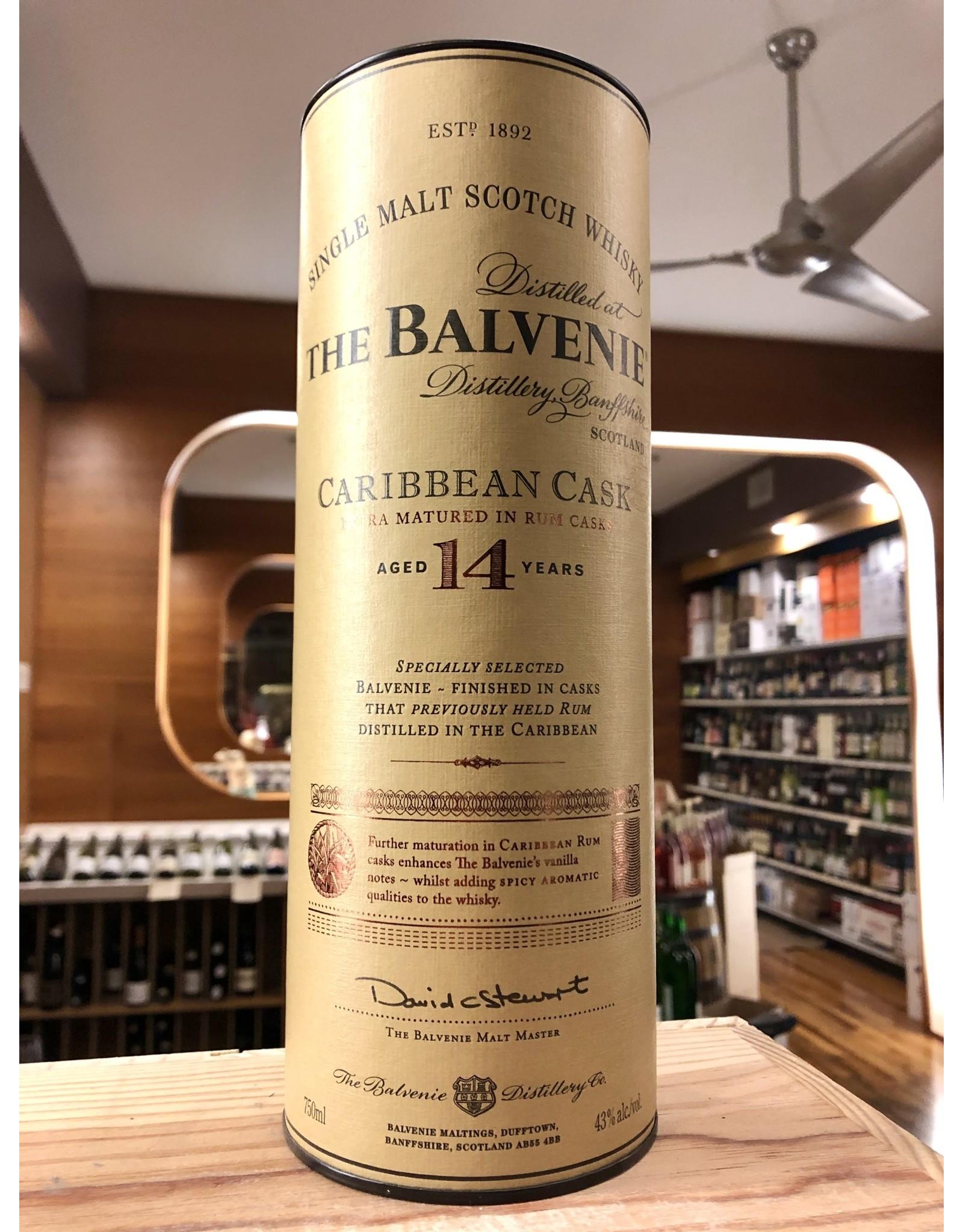Balvenie 14yr Caribbean Cask - 750 ML