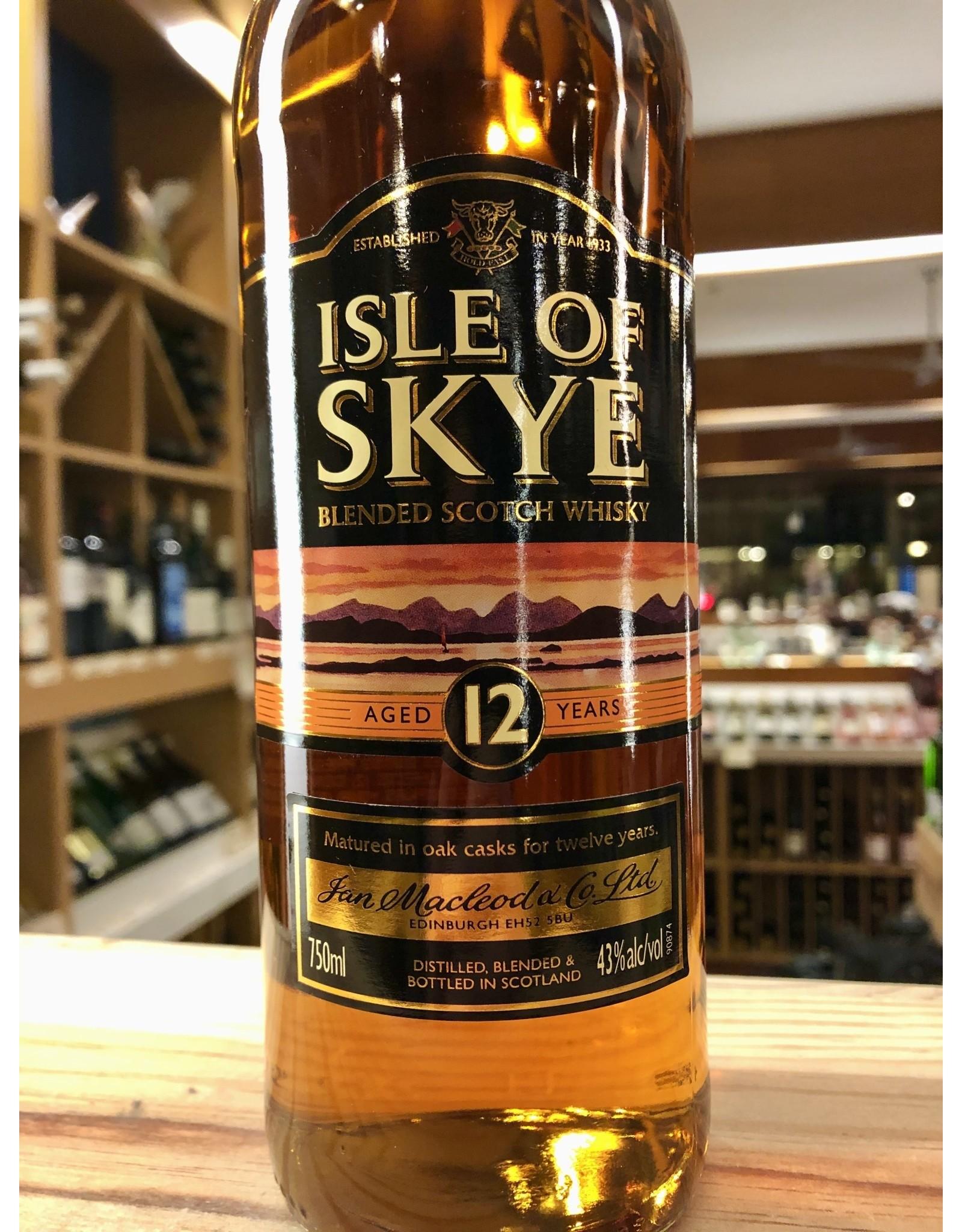 Isle of Skye 12yr - 750 ML