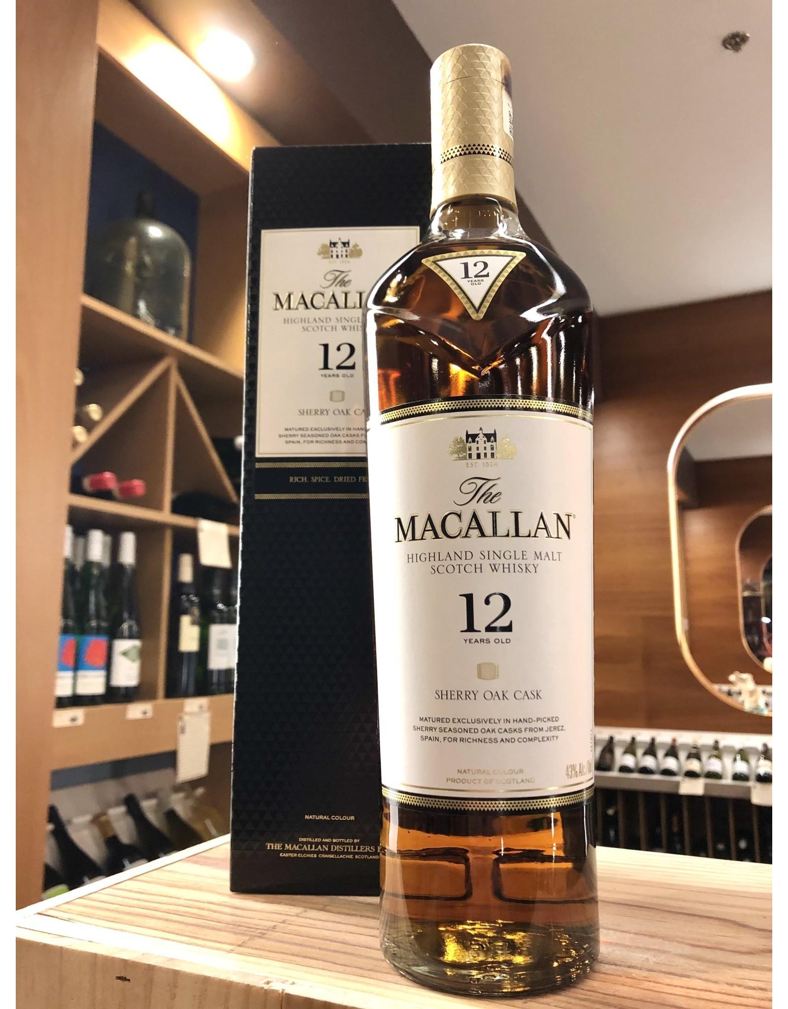 Macallan 12 Year Scotch - 750 ML