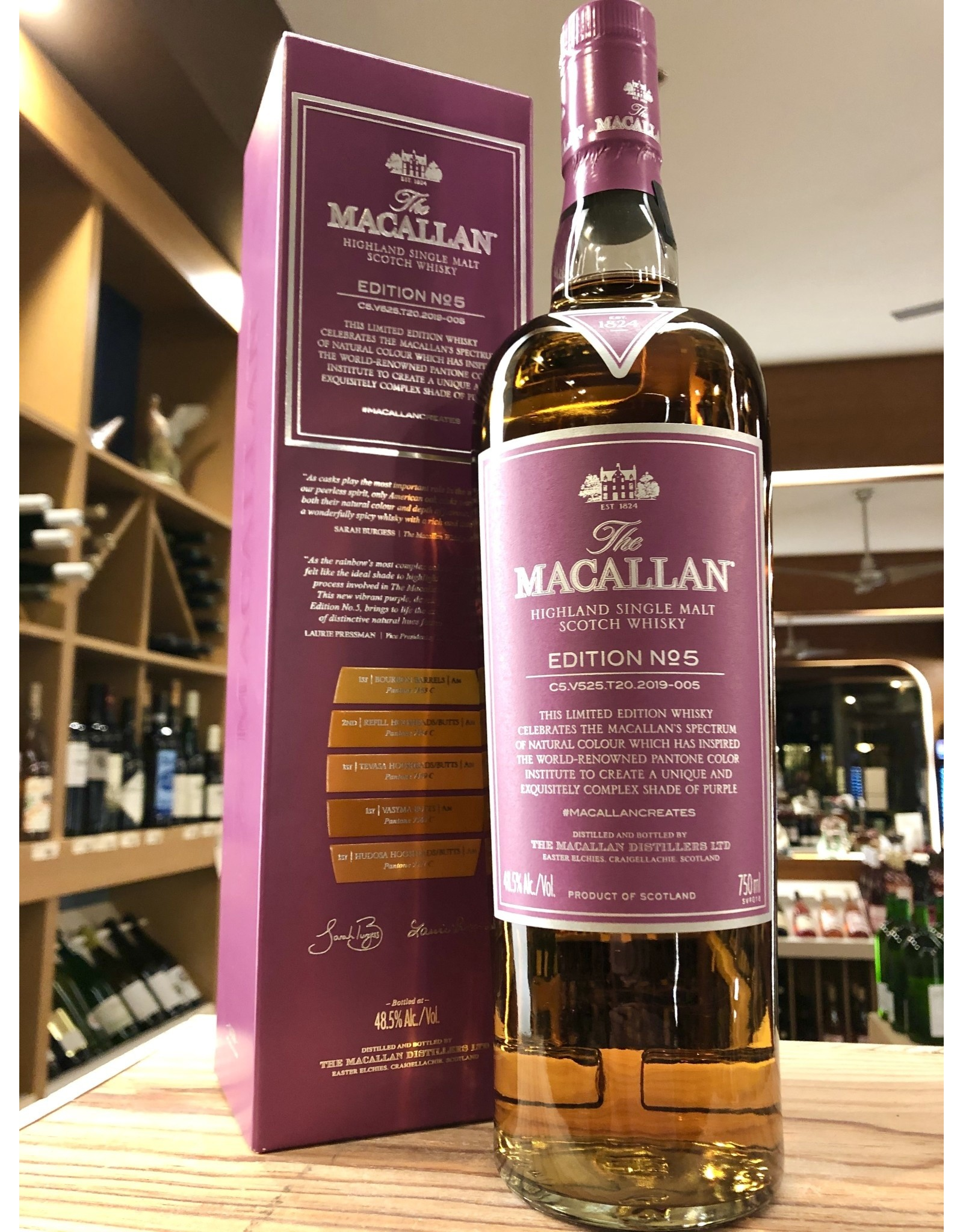 Macallan Edition 5 - 750 ML