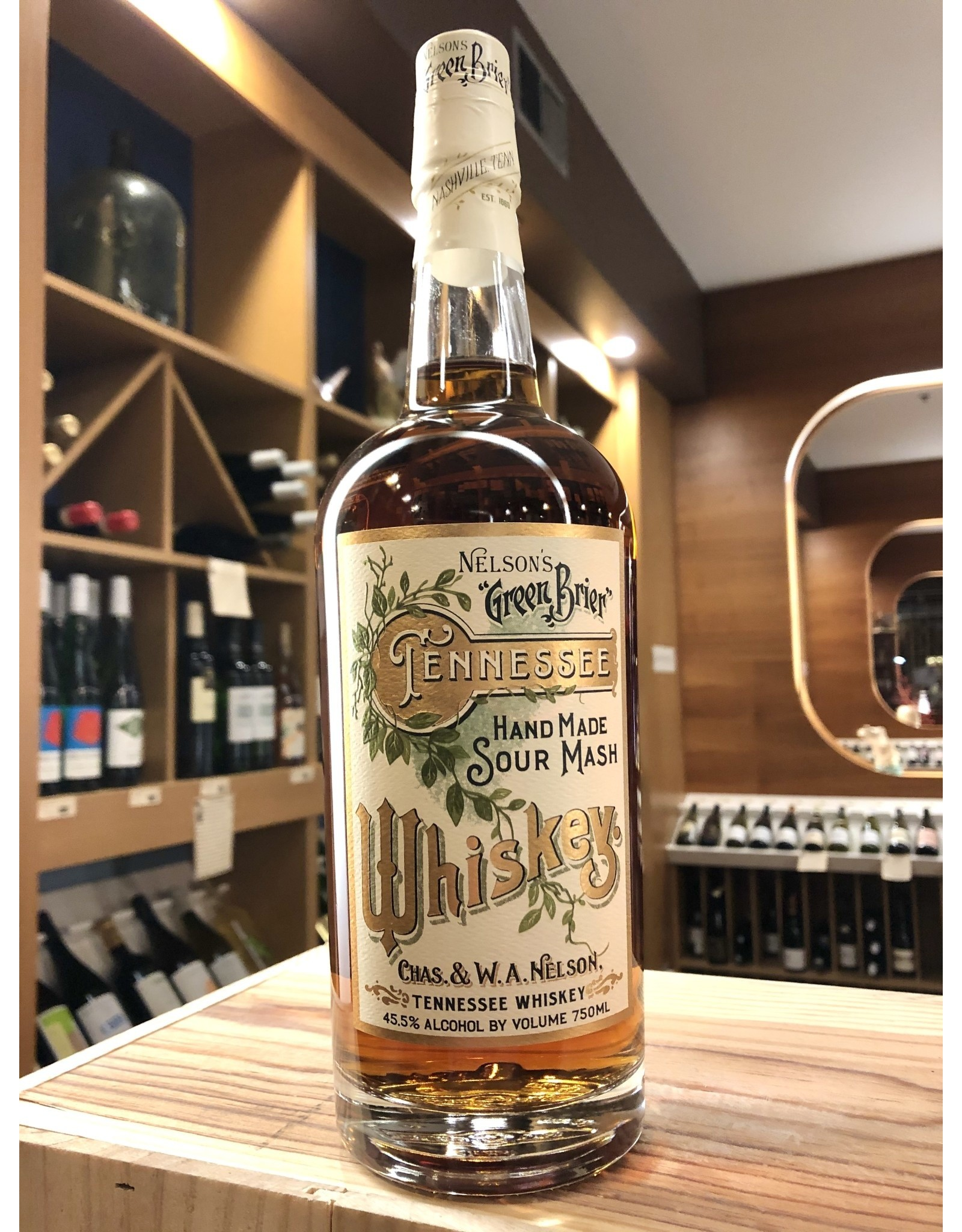 Nelson's Green Brier Tennessee Whiskey - 750 ML