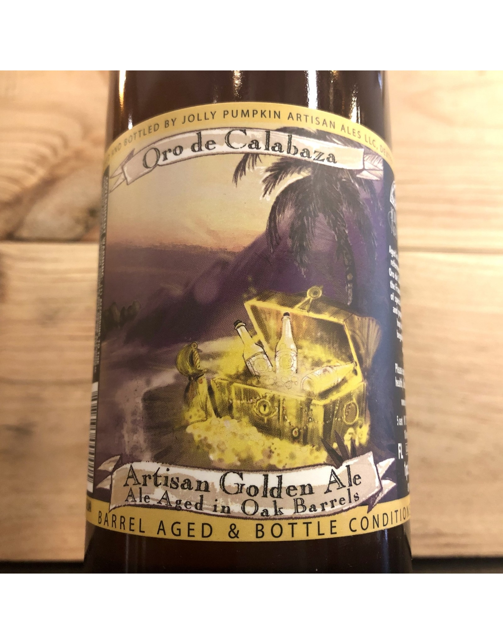 Jolly Pumpkin Oro de Calabaza Ale - 750 ML