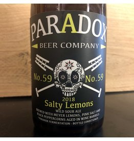Paradox Salty Lemons no. 59 - 500 ML