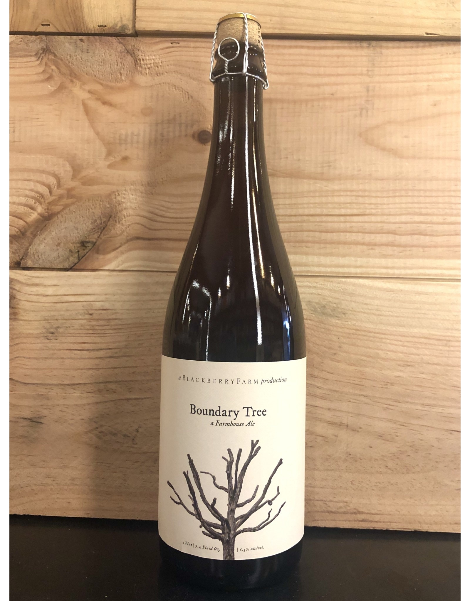 Blackberry Farm Boundary Tree Farmhouse Ale - 750 ML