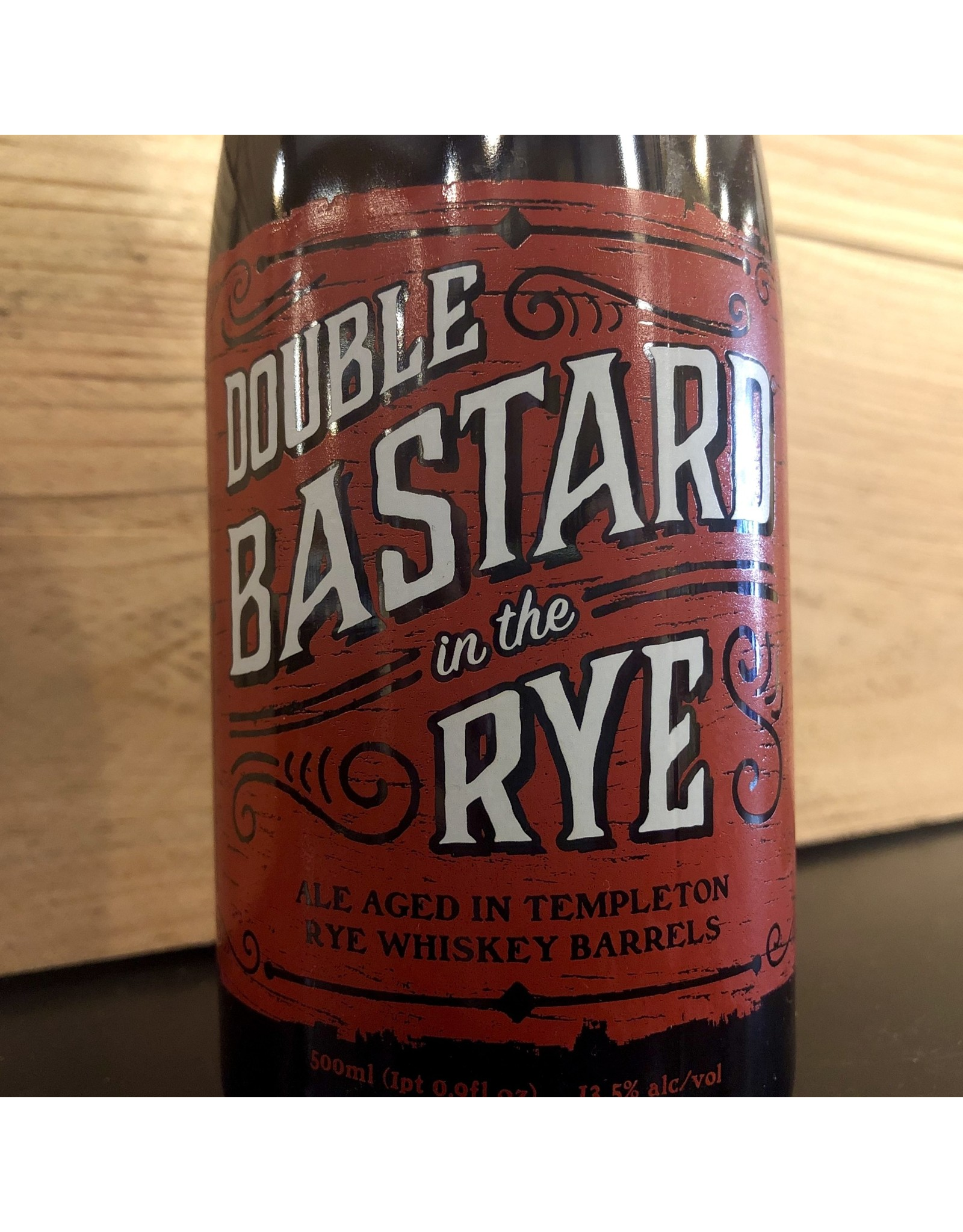 Stone Rye Barrel Double Bastard - 500 ML