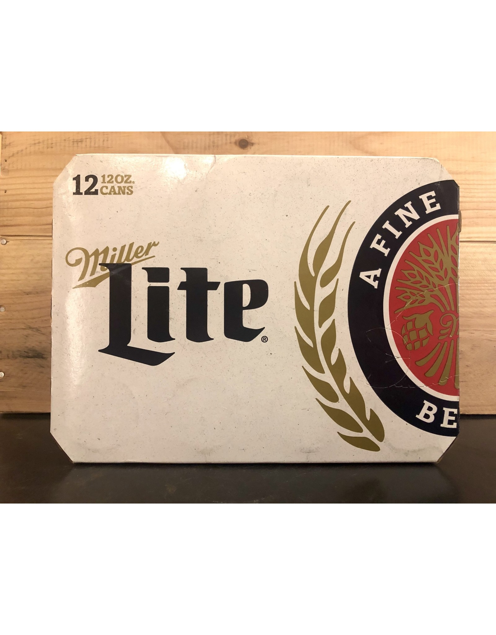 Miller Lite  - 12x12 oz.