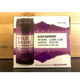 Wild Basin Blk Rasp  - 6x12 oz.