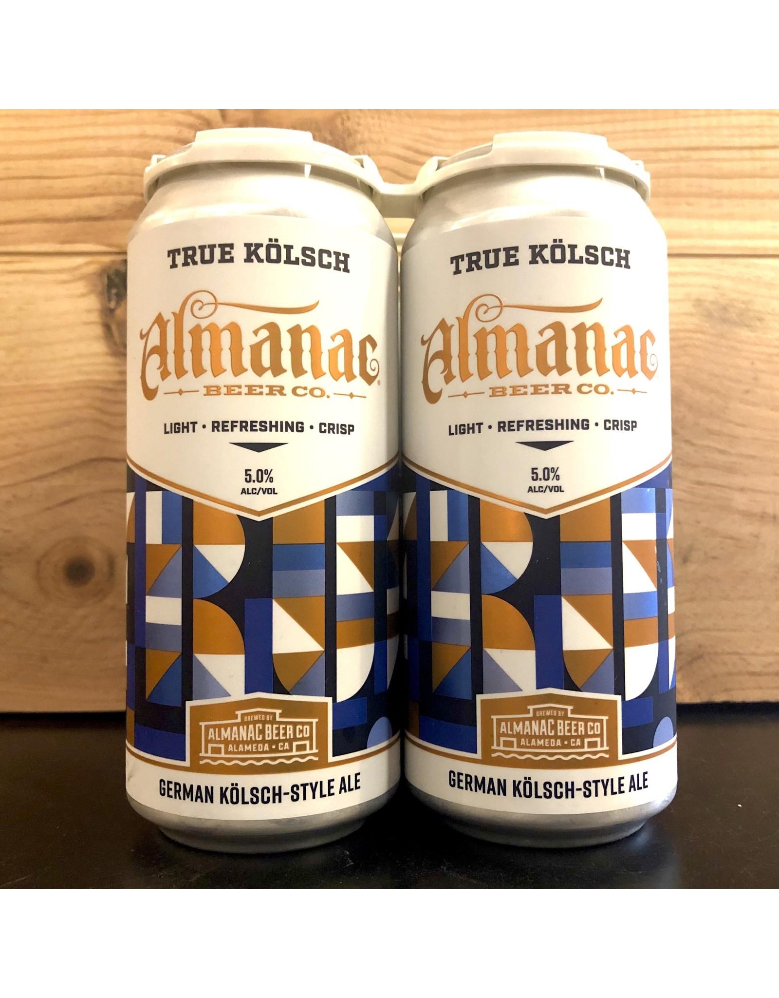 Almanac True Kolsch  - 4x16 oz.