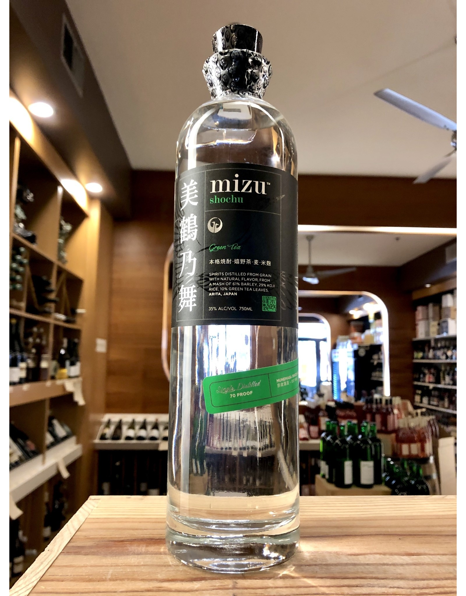 Mizu Green Tea Shochu - 750 ML