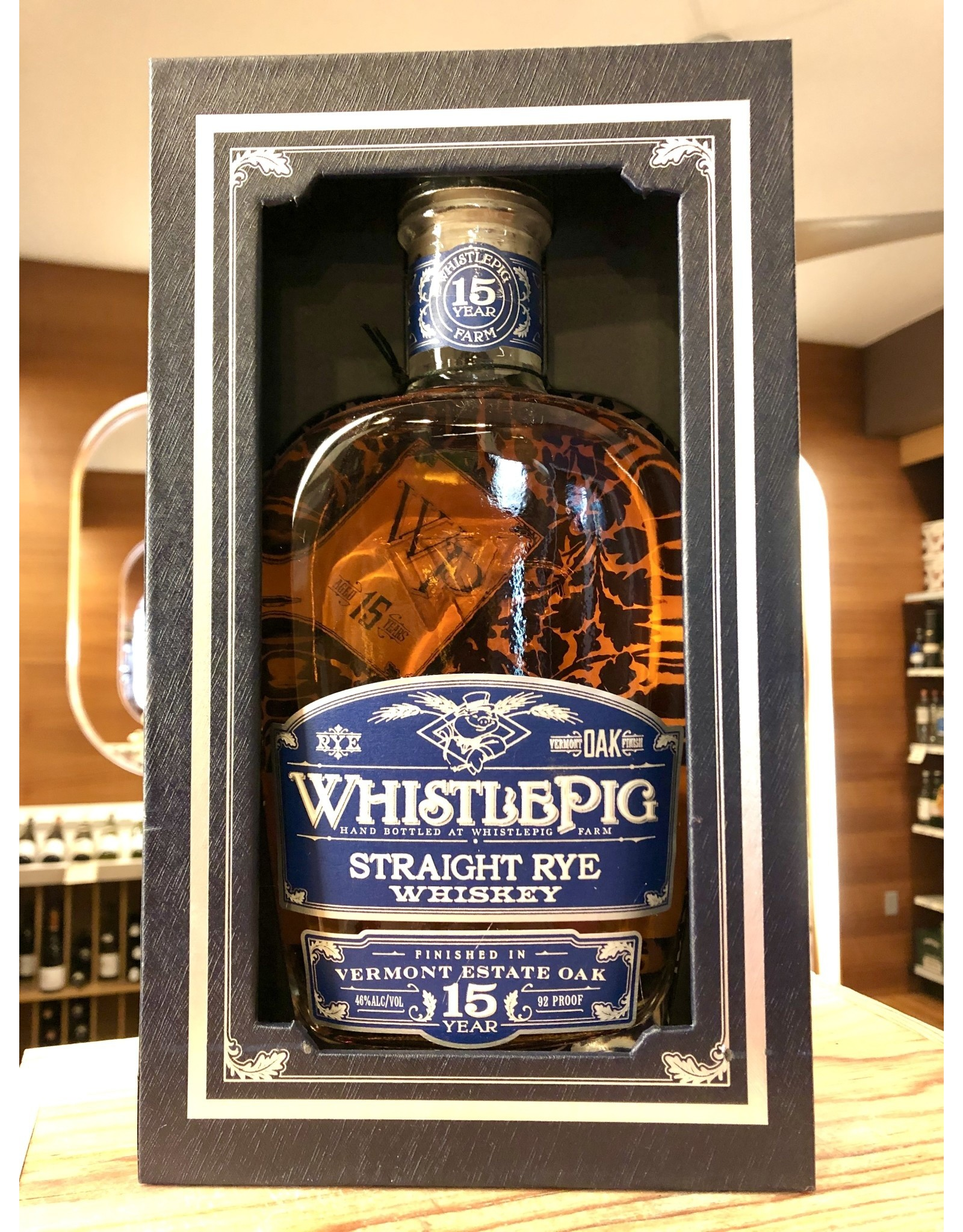 Whistlepig 15yr Rye - 750 ML
