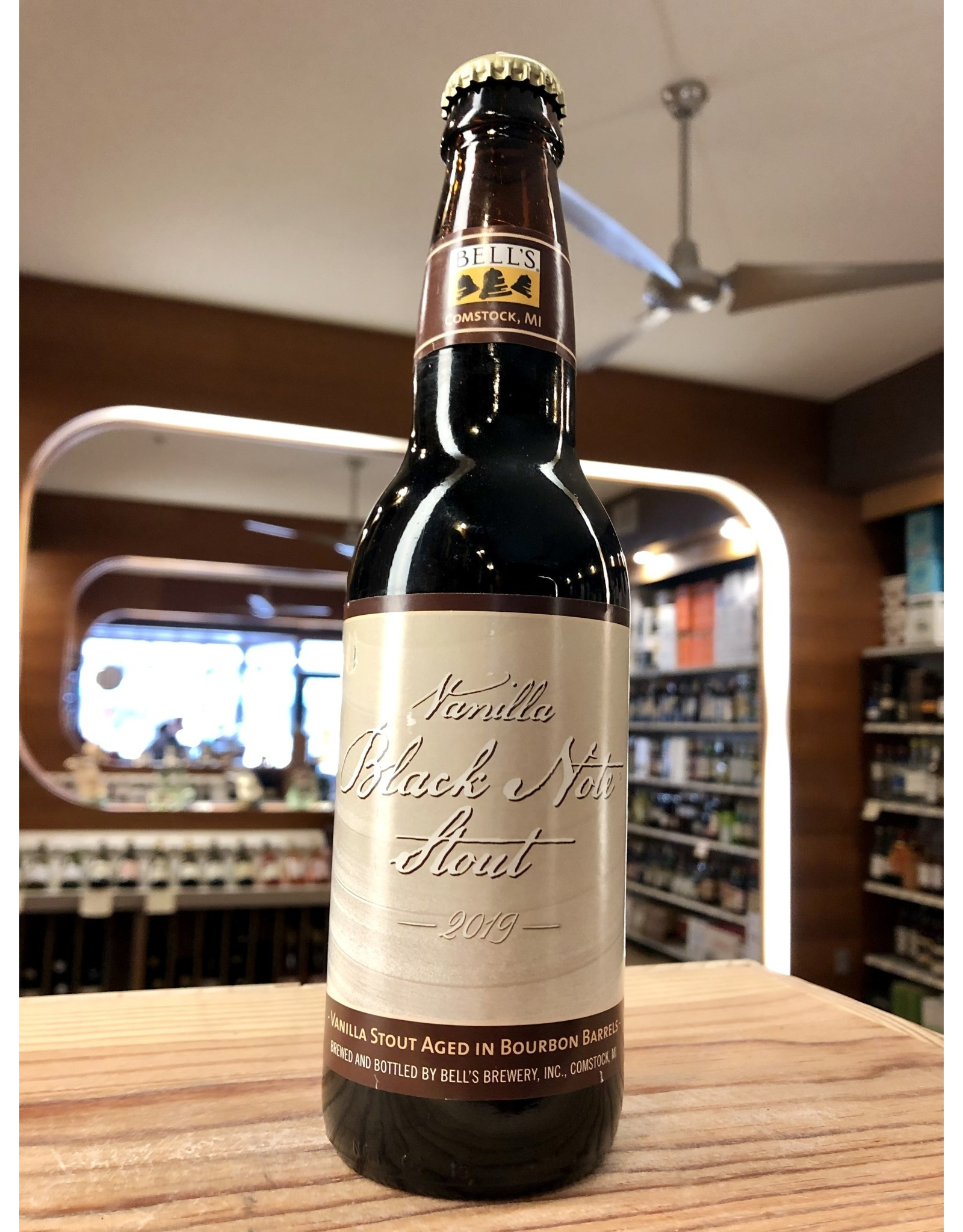 Bell's Vanilla Black Note Stout - 12 oz.