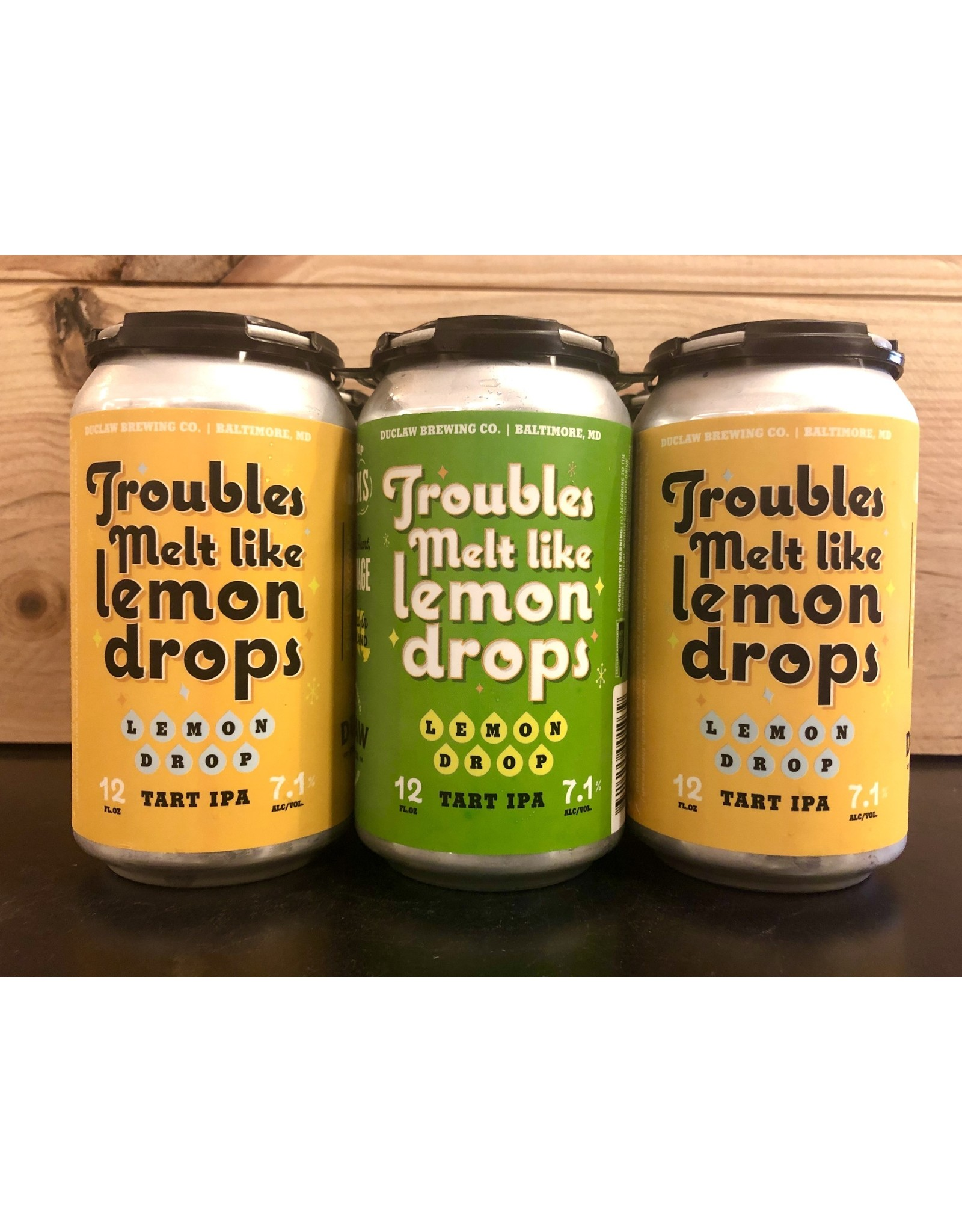 Duclaw Trouble Melt Like Lemon Drops - 6x12 oz.