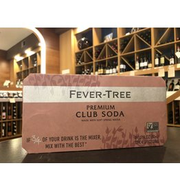 Fever Tree Club Soda Cans