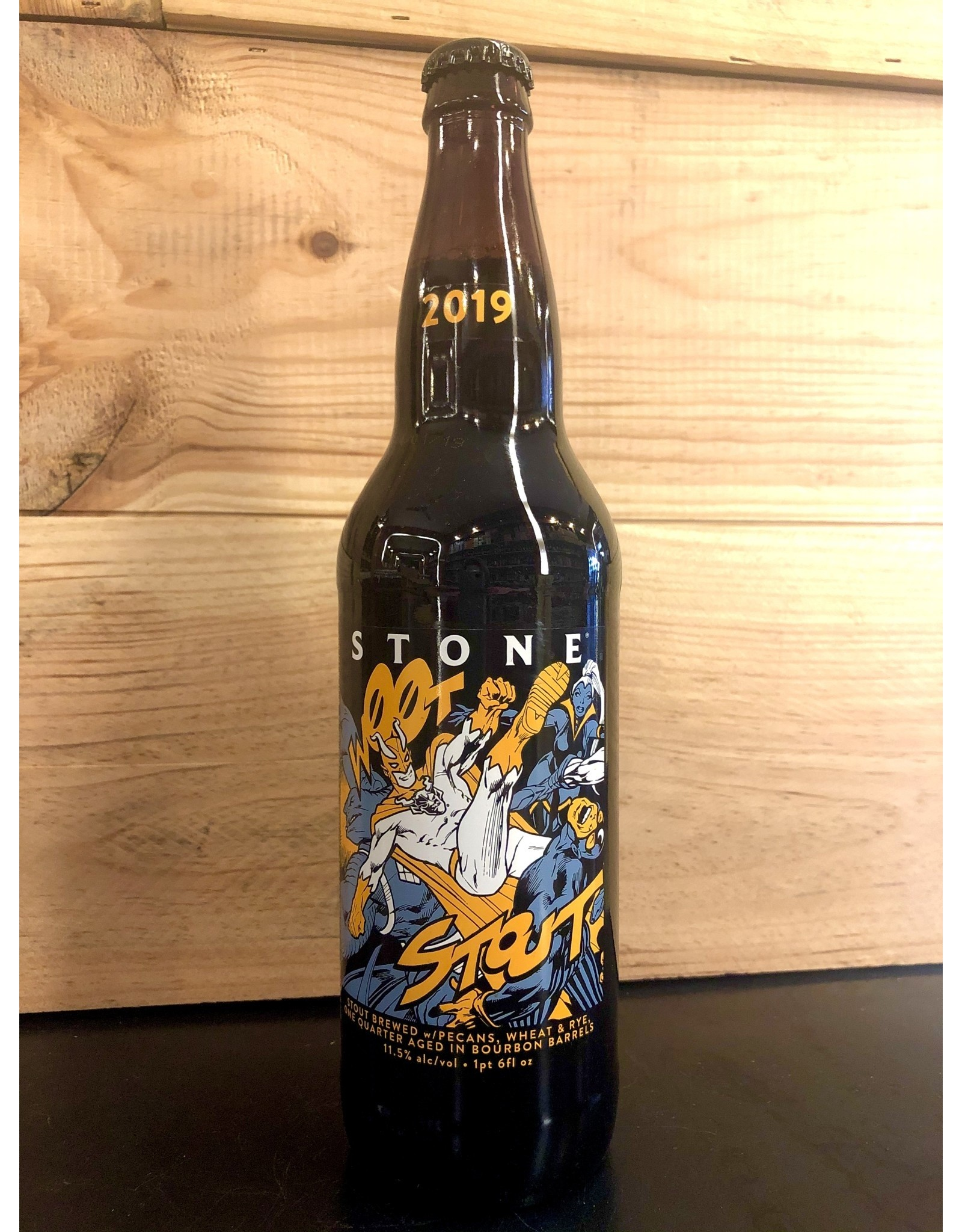 Stone Wootstout Aged Ale - 651 ML