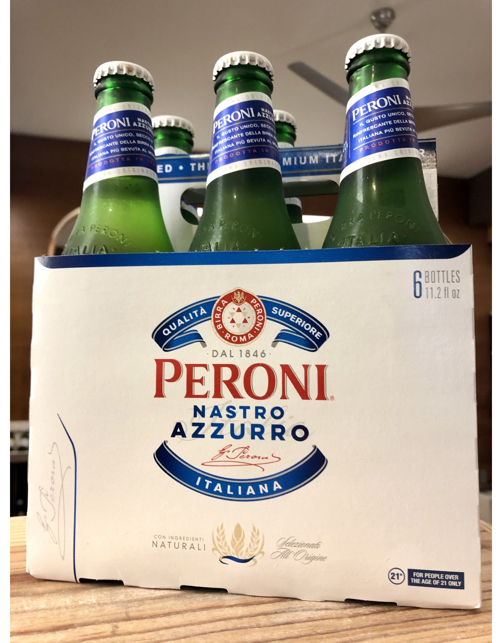 Peroni  - 6x12 oz.