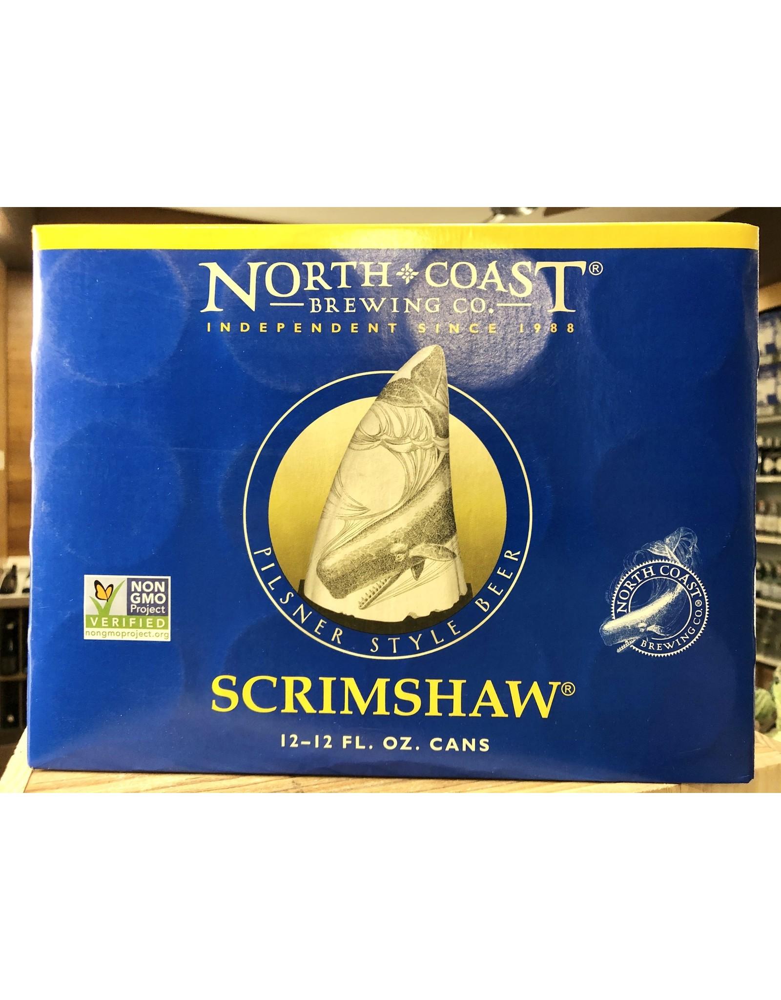 North Coast Scrimshaw Pilsner - 12x12 oz.